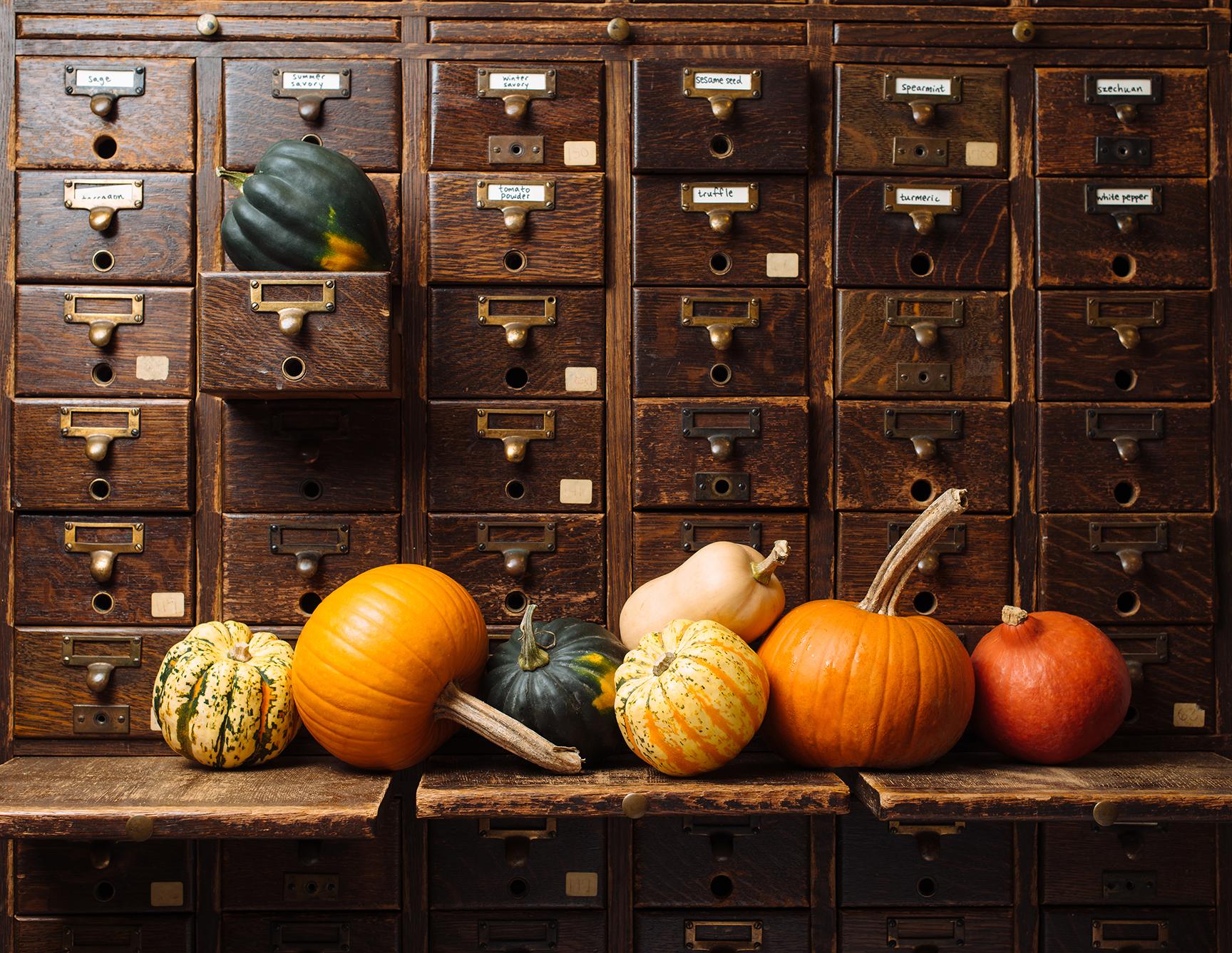 Fall produce at Marty's Market.