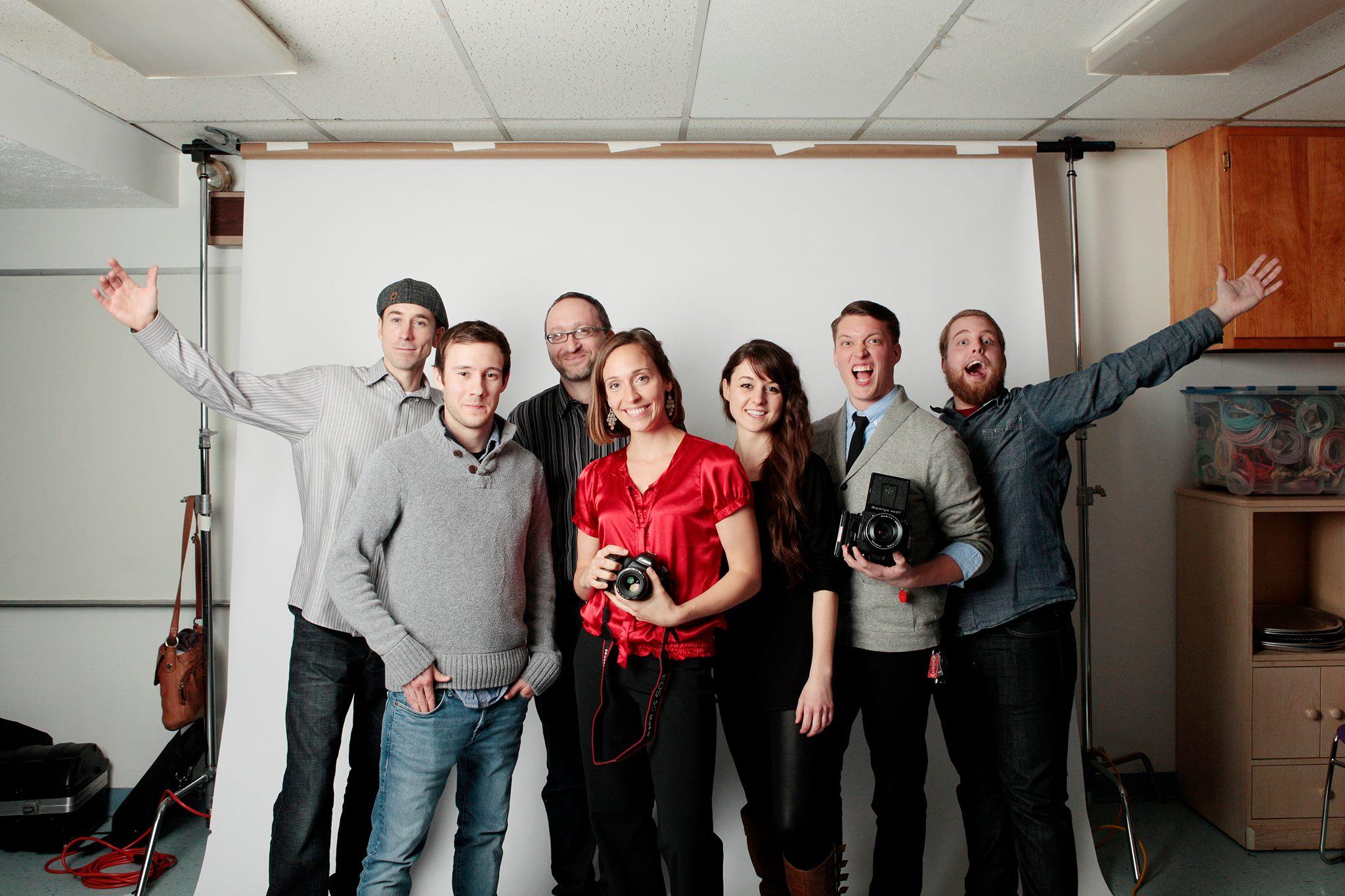 Kevin, Kris, Dmitriy, Pam, Rachel, Cory, me.