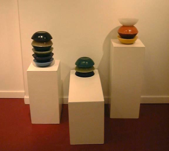 manufactured coloured objects