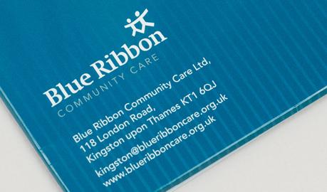 Blue Ribbon |  Visual identity