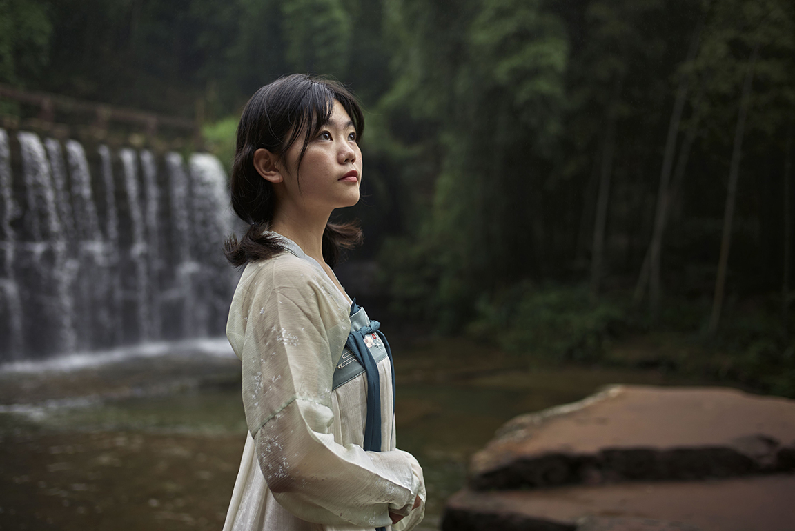 Hanfu Girl - Shunan Bamboo Forest, China