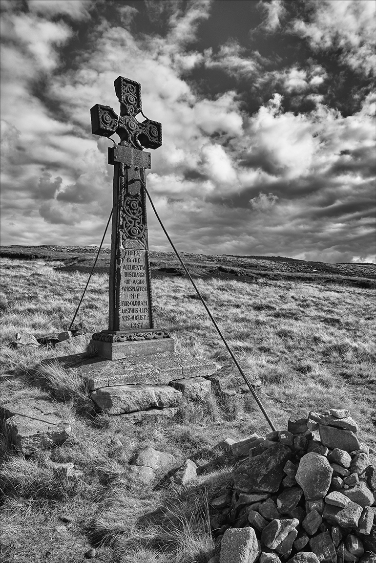 Memorial Cross - Saddleworth Moor