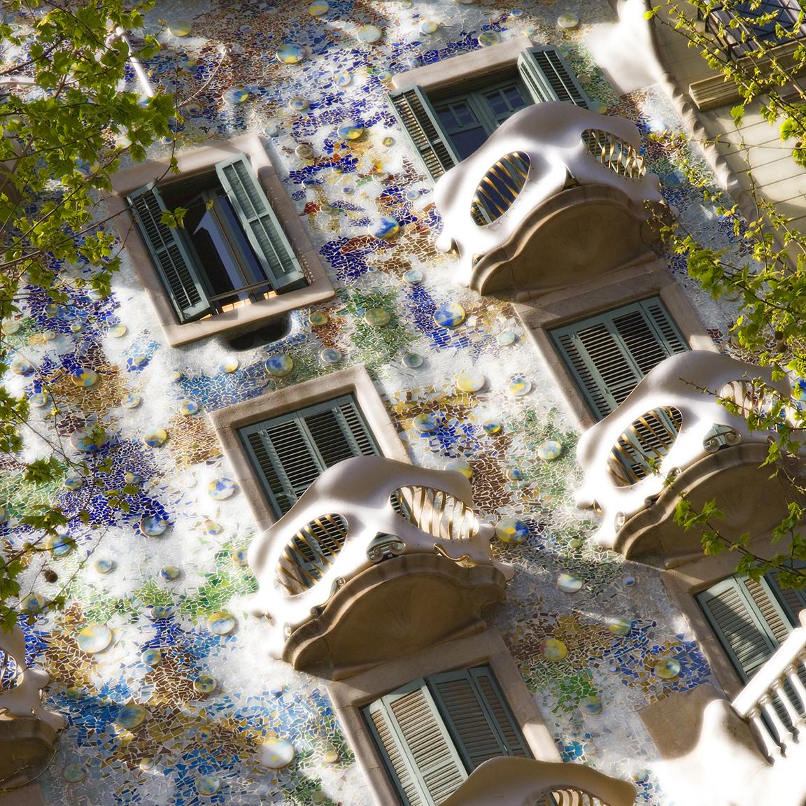 Gaudi Architecture - Barcelona