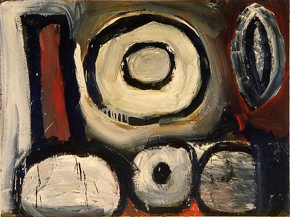 Insanity, oil on canvas