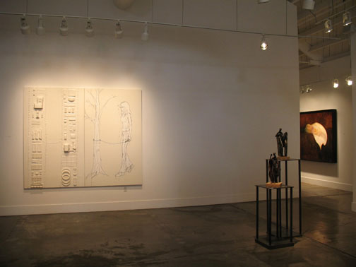 an installation shot of 'treewalker' ©2007