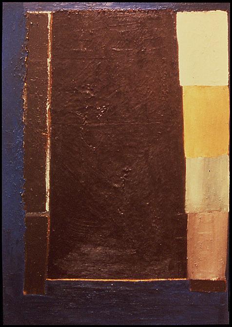 """Untitled 1 (vase), ""53"" x 38"", oil on canvas, ©1981"