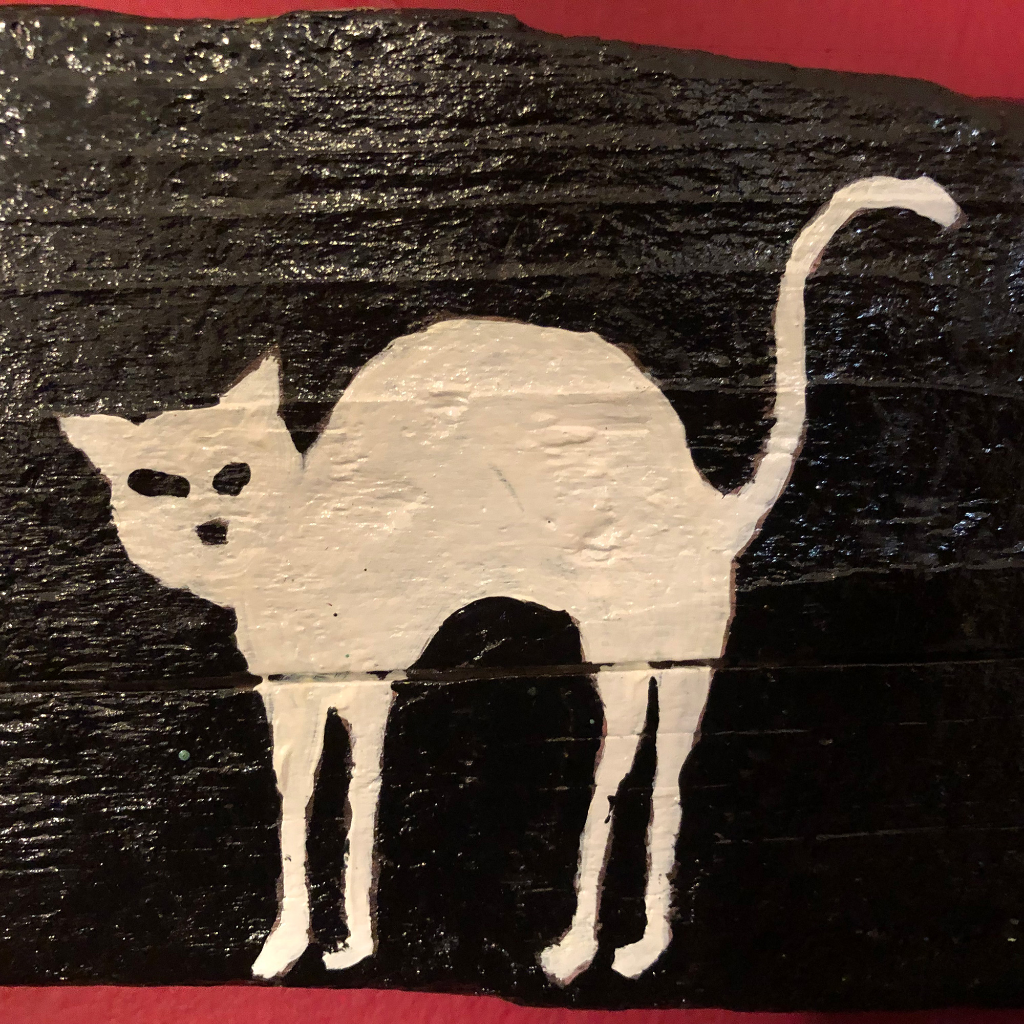 Snow Cat, detail