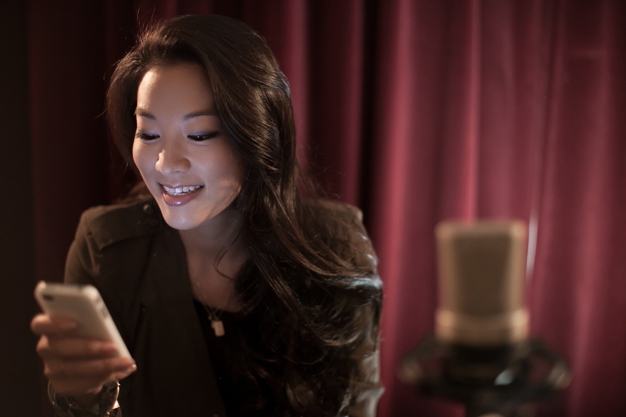 arden staying in touch with her adoring fans