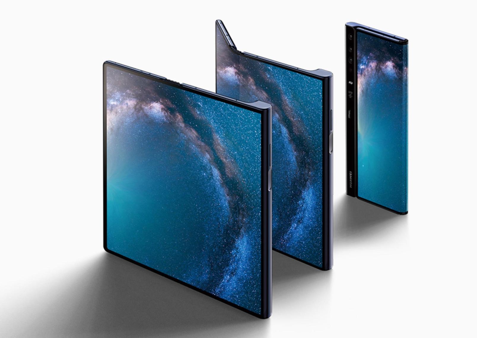 Huawei Foldable Mate X - February 2019