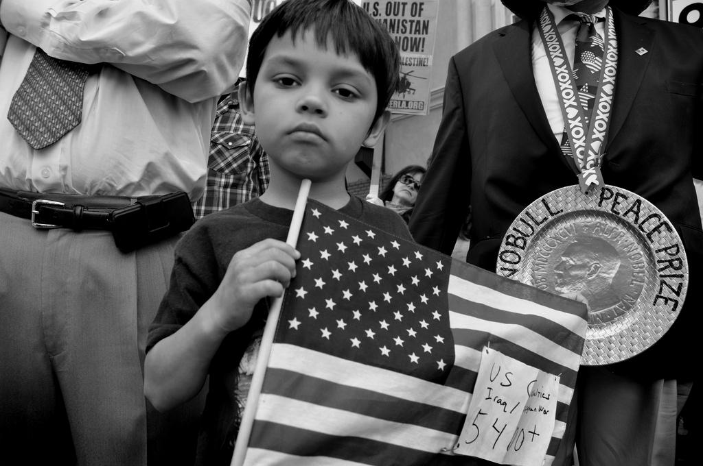 Anti-war rally, Los Angeles
