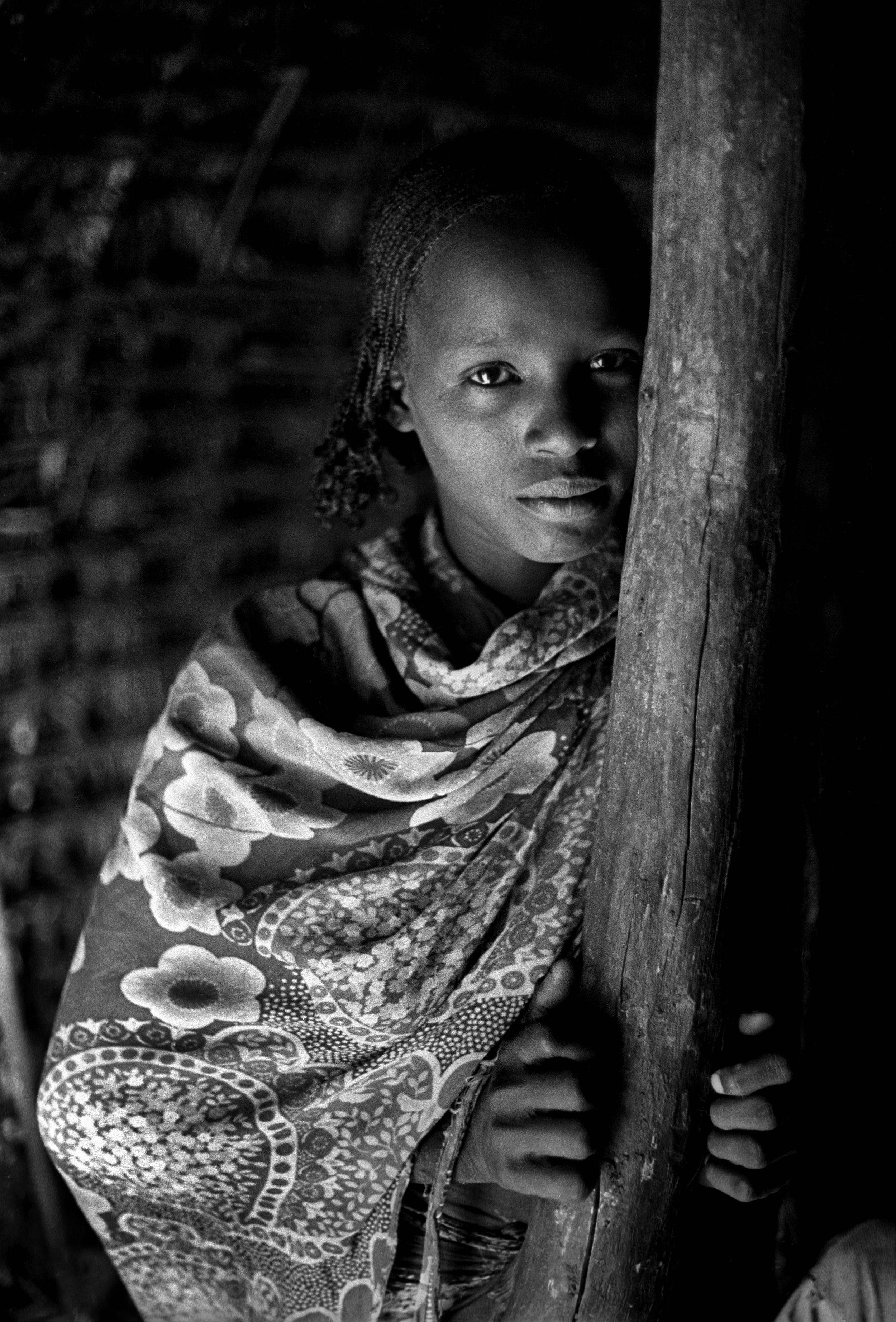 Gabbra girl, Sololo, Kenya