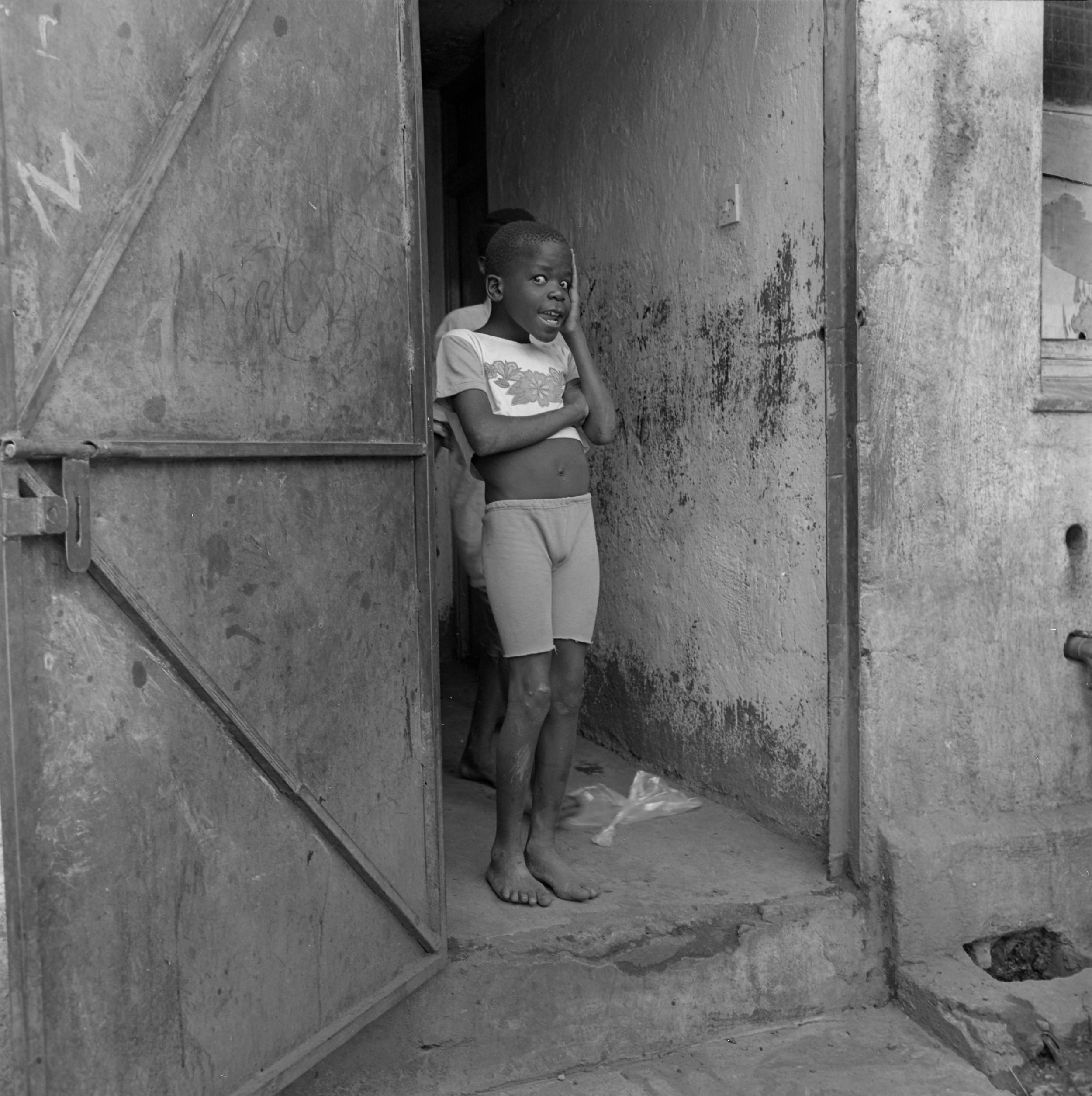Street boy in rescue center, Nairobi