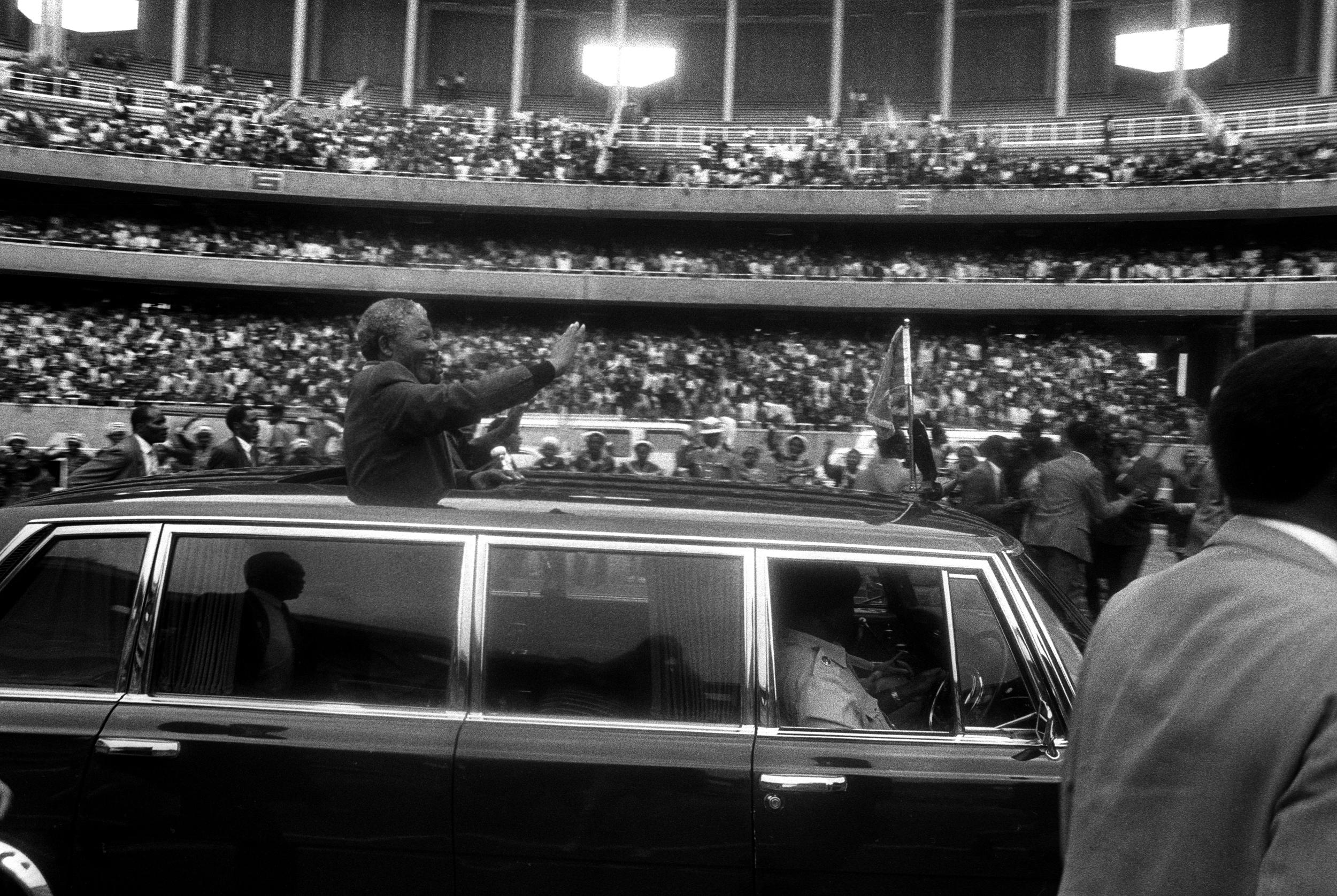 Free Mandela visits Nairobi