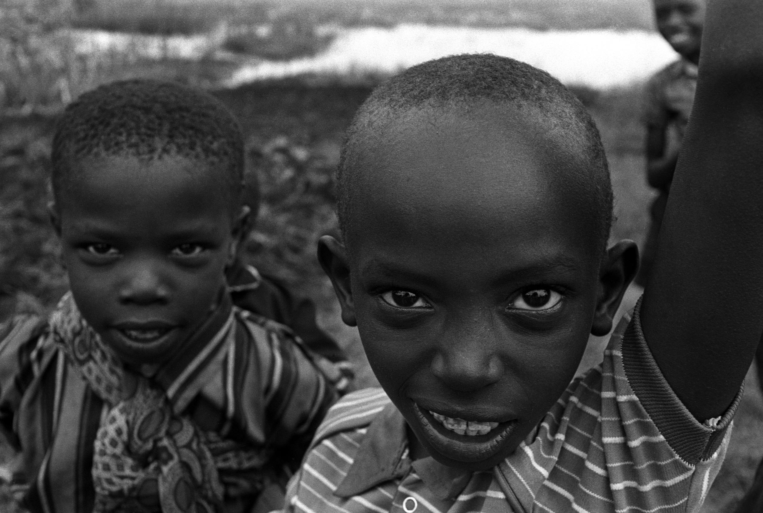 Kikuyu children