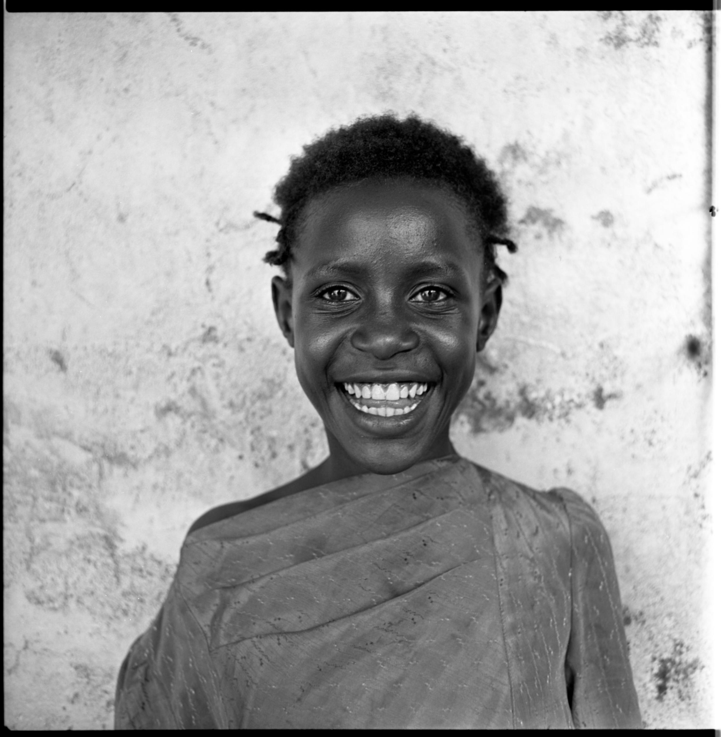 Street girl, Nairobi