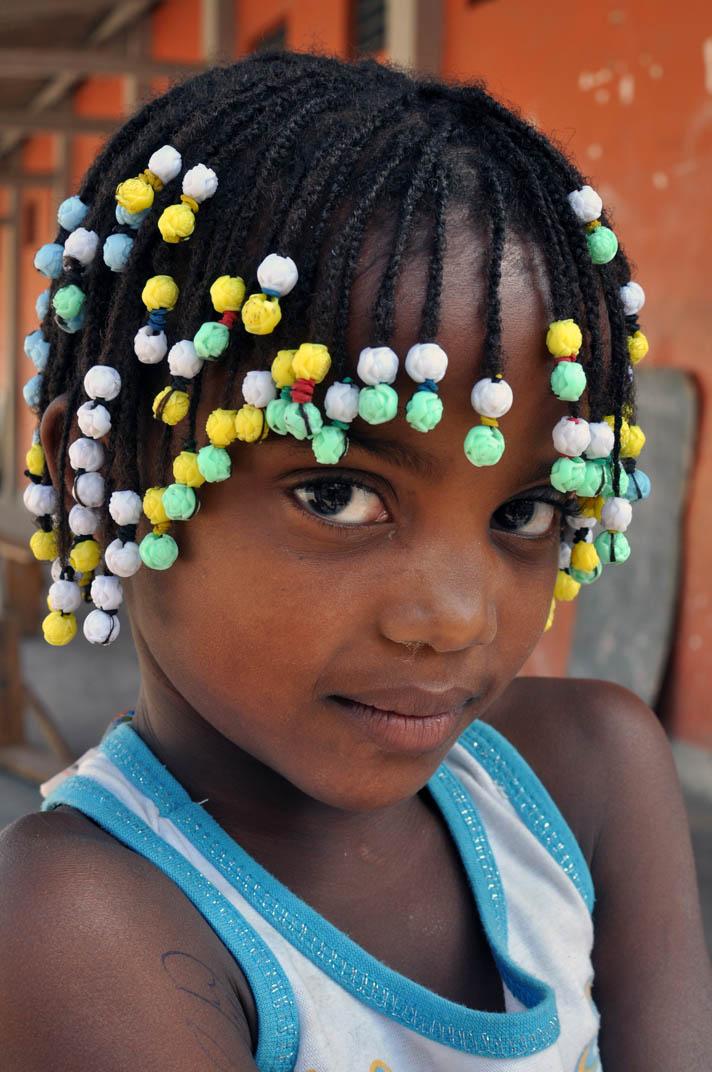 Angolan girl