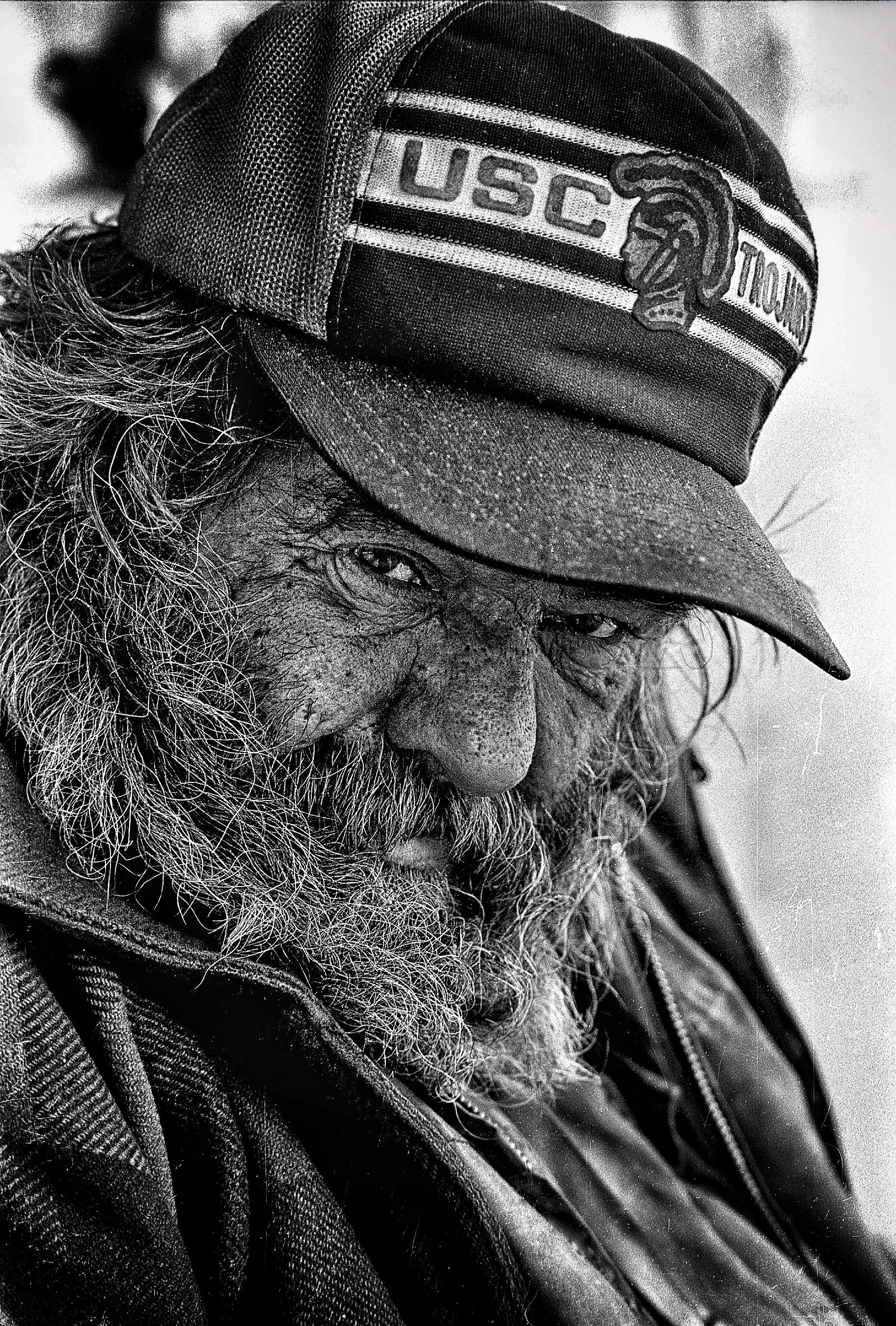Bob, homeless in Van Nuys CA, 1984