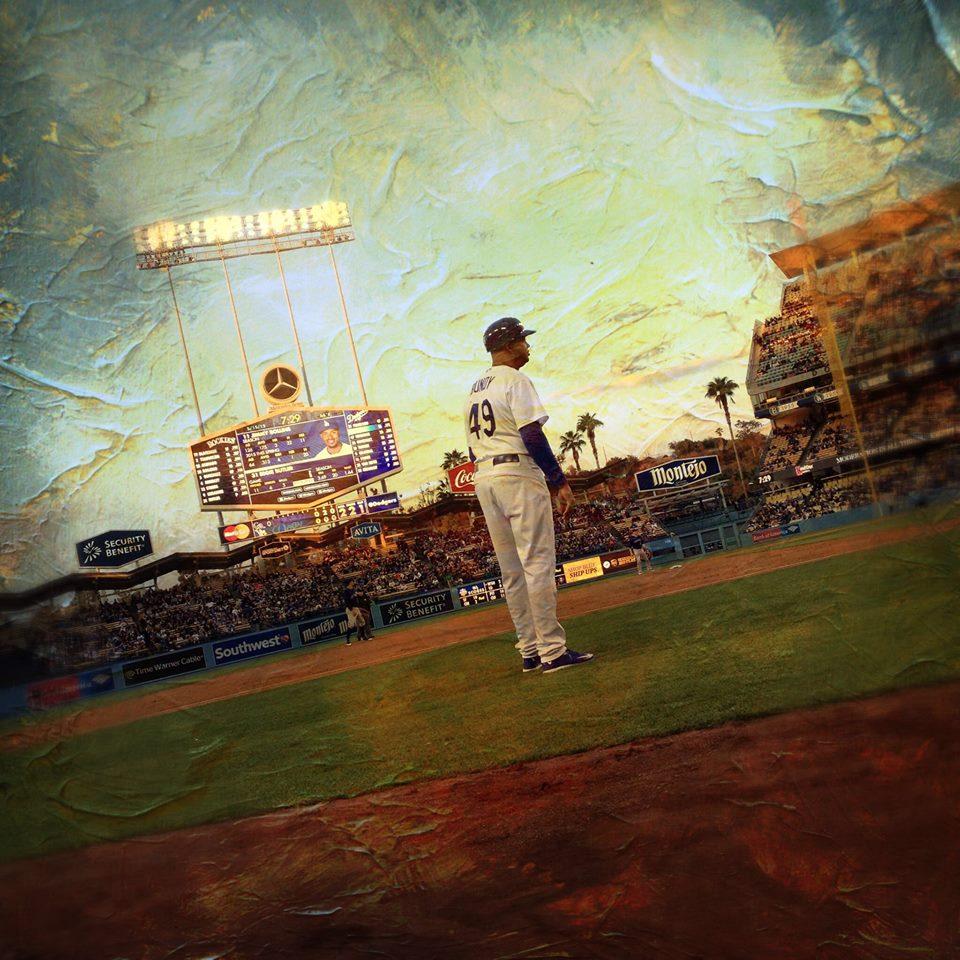 Third base coach, Dodger Stadium