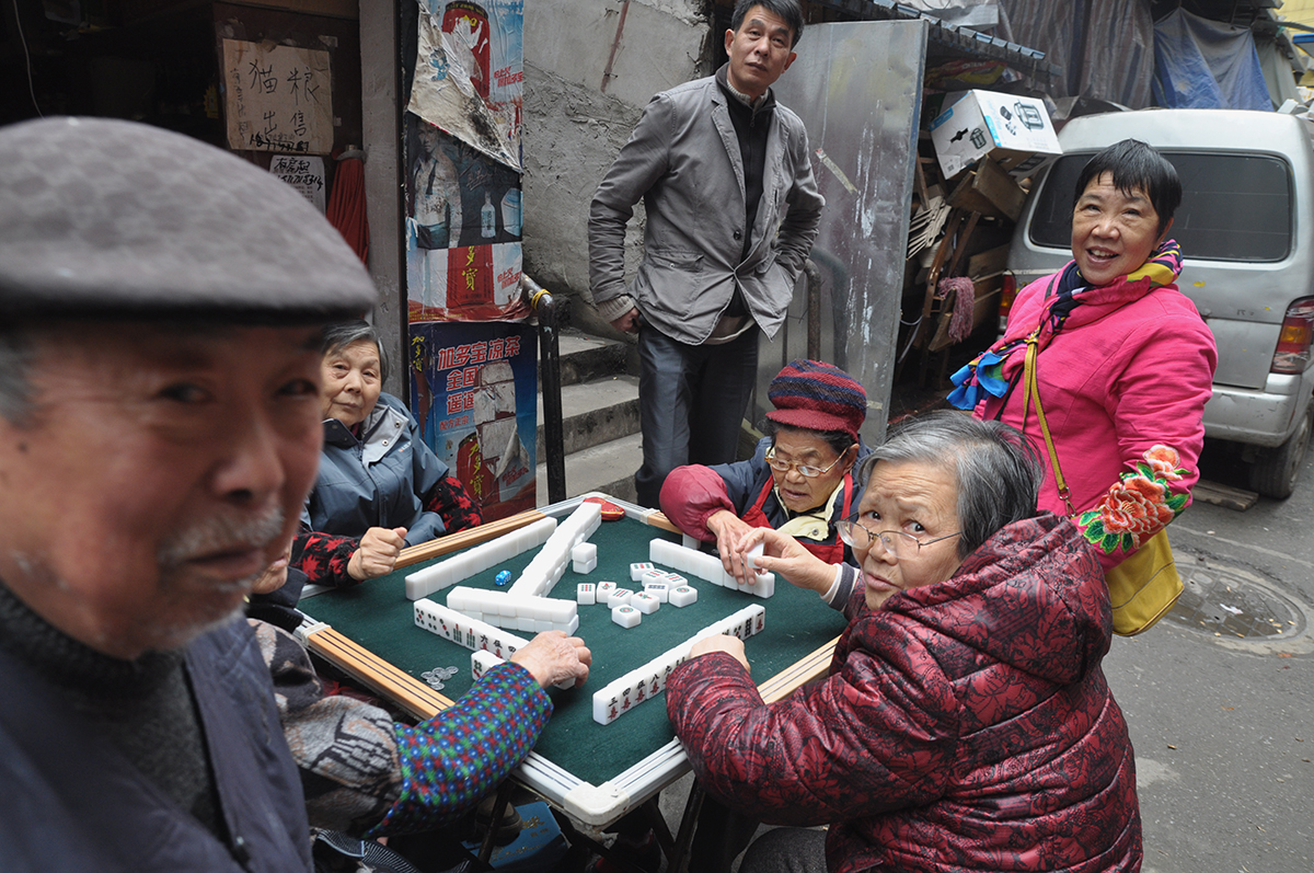 Mahjong game, Wuhan