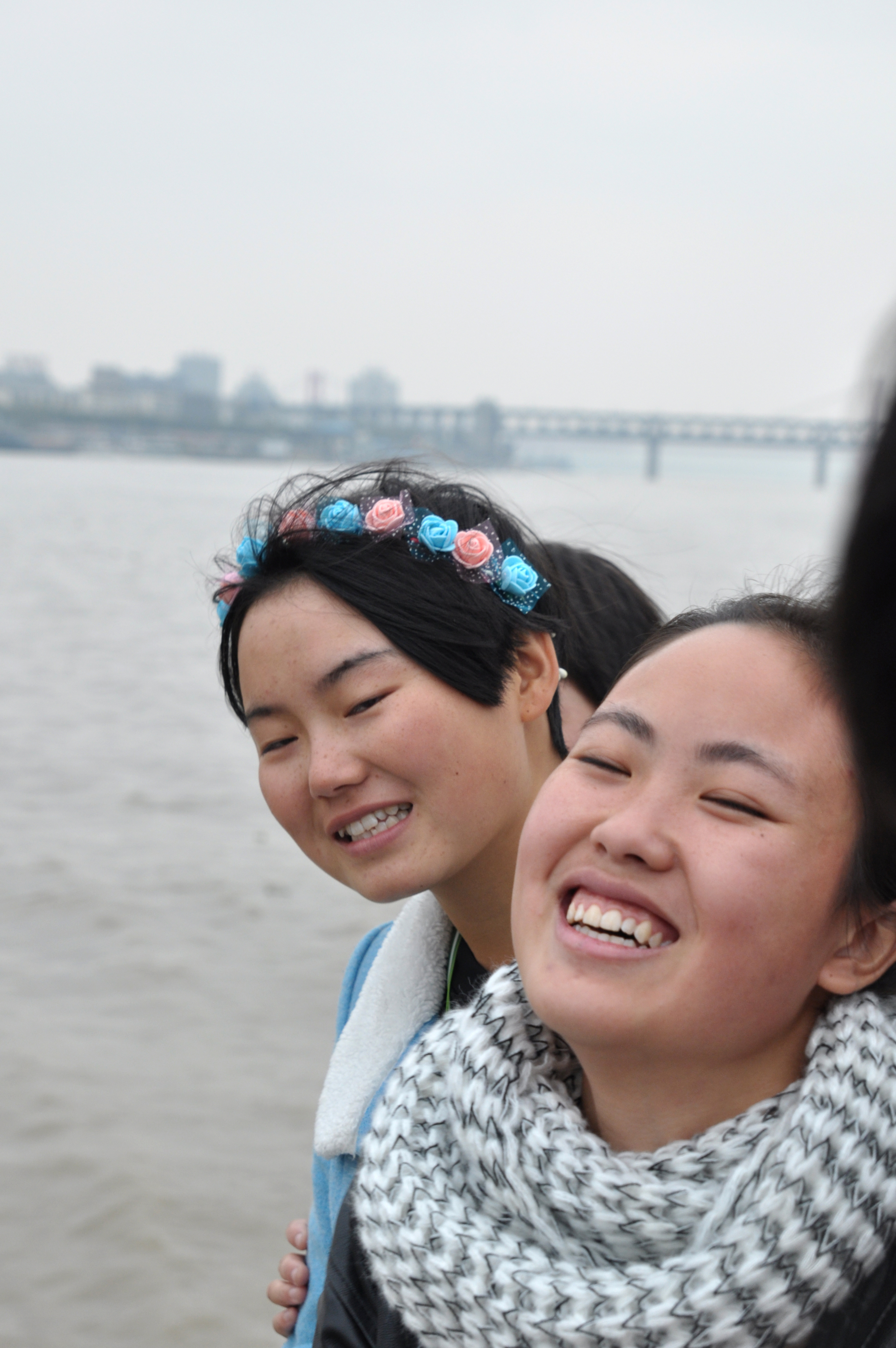 Ferry crossing the Yangtze River