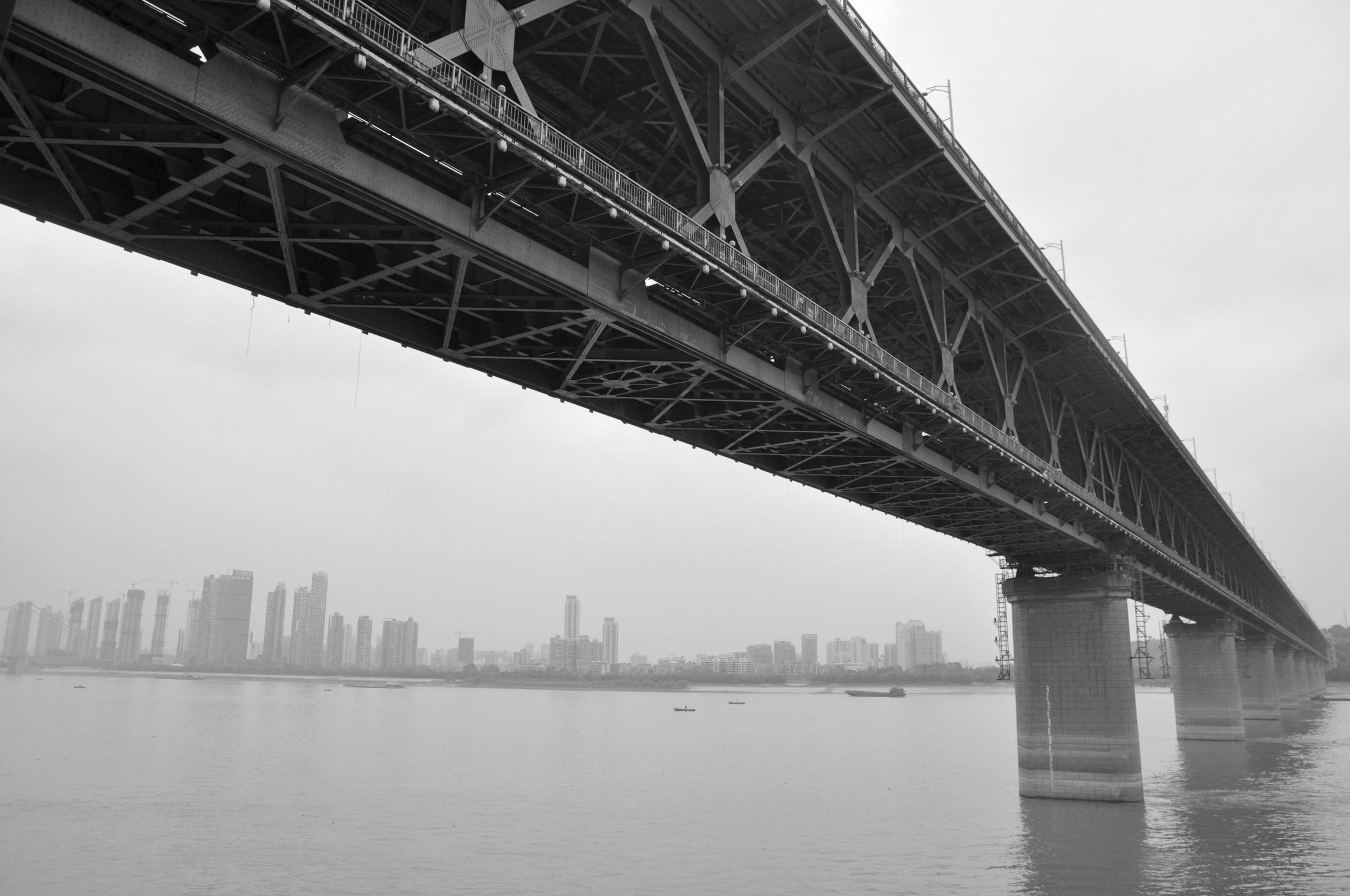 Bridge over Yangtze River, Wuhan