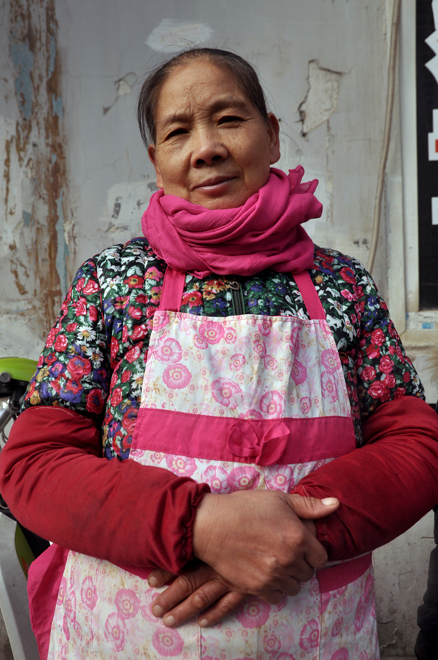 Restaurant proprietor, Wuhan, 2015