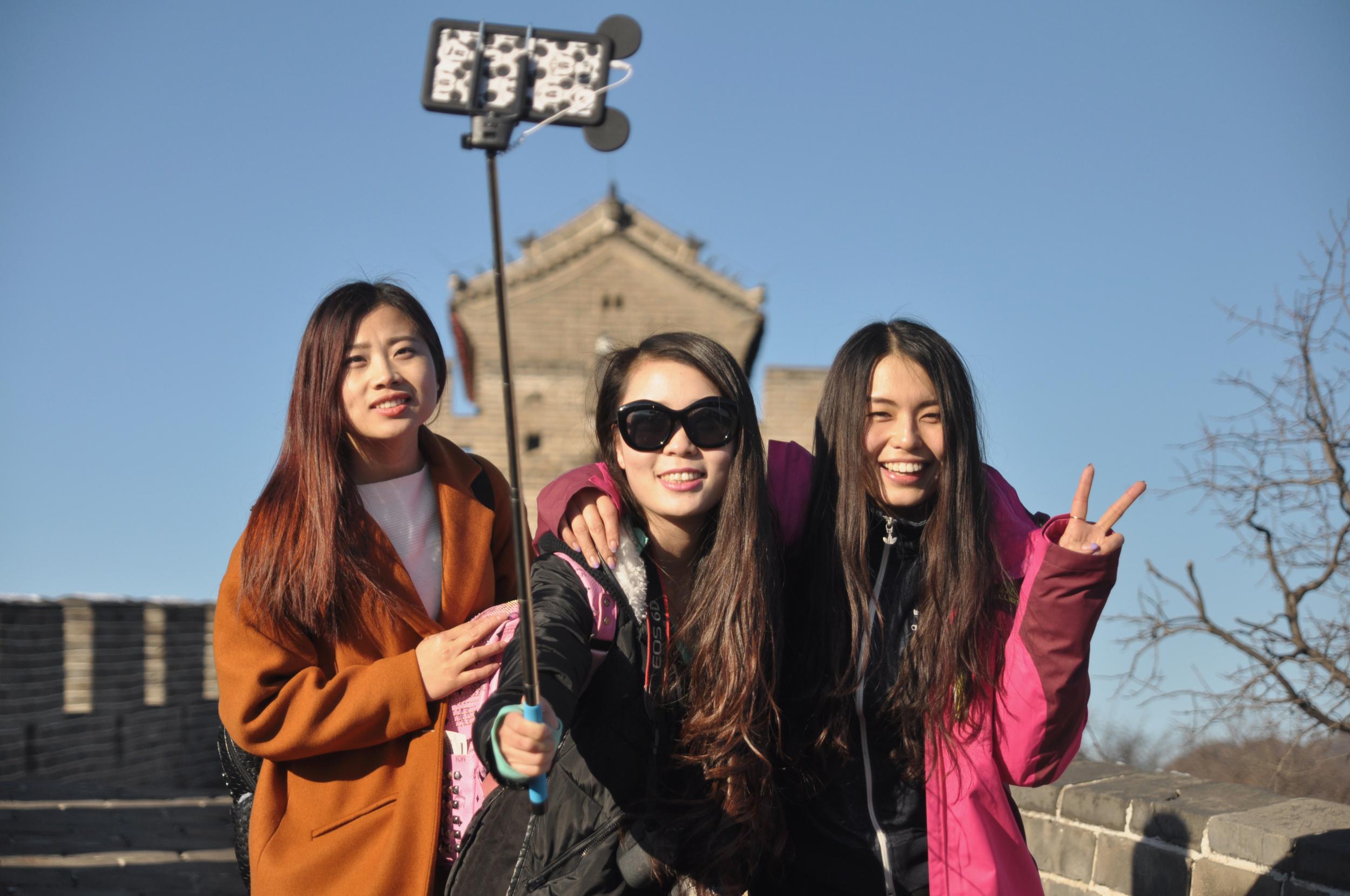 Great Wall of China, 2015.