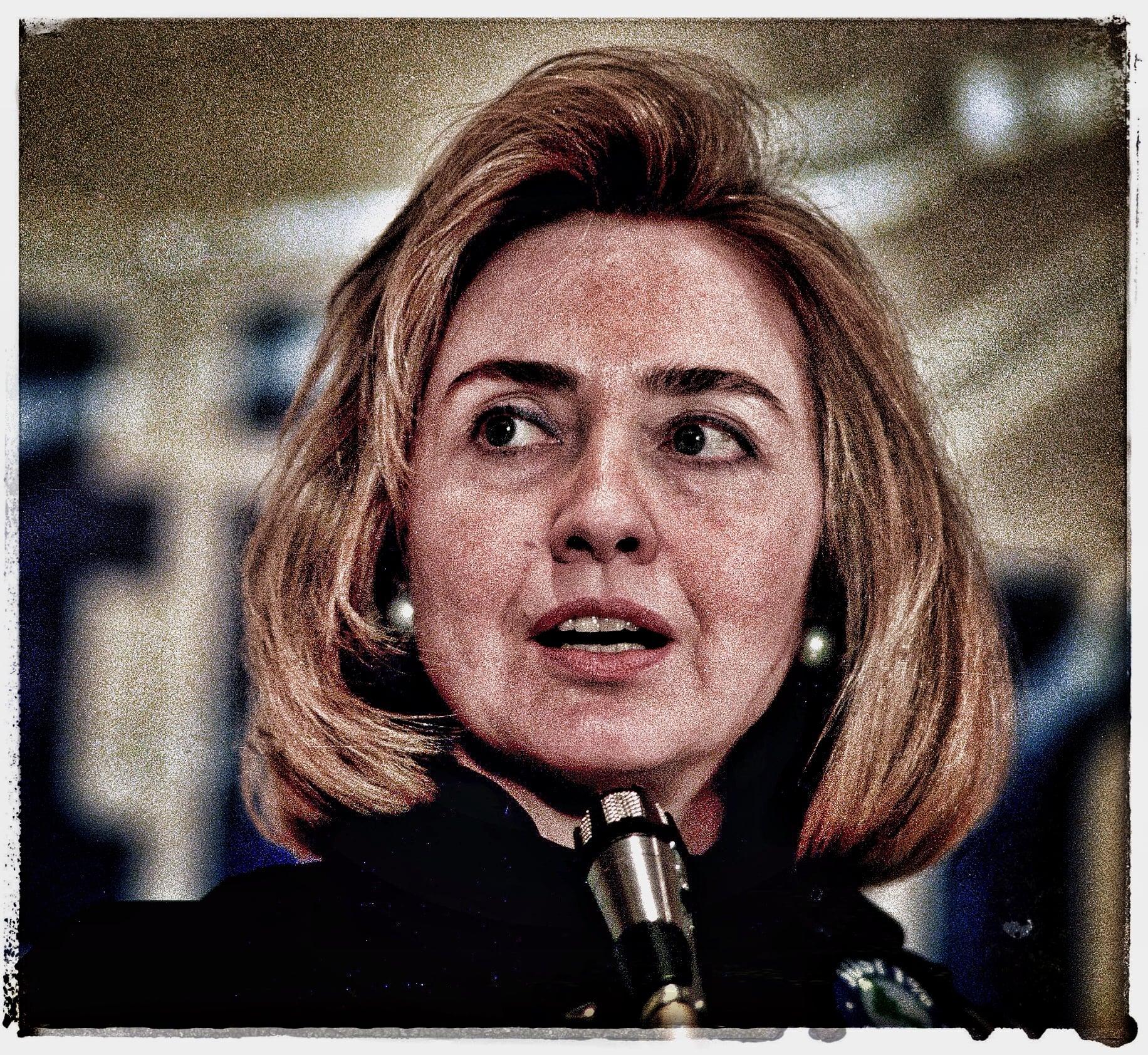 Hillary Clinton.White House, 1995.