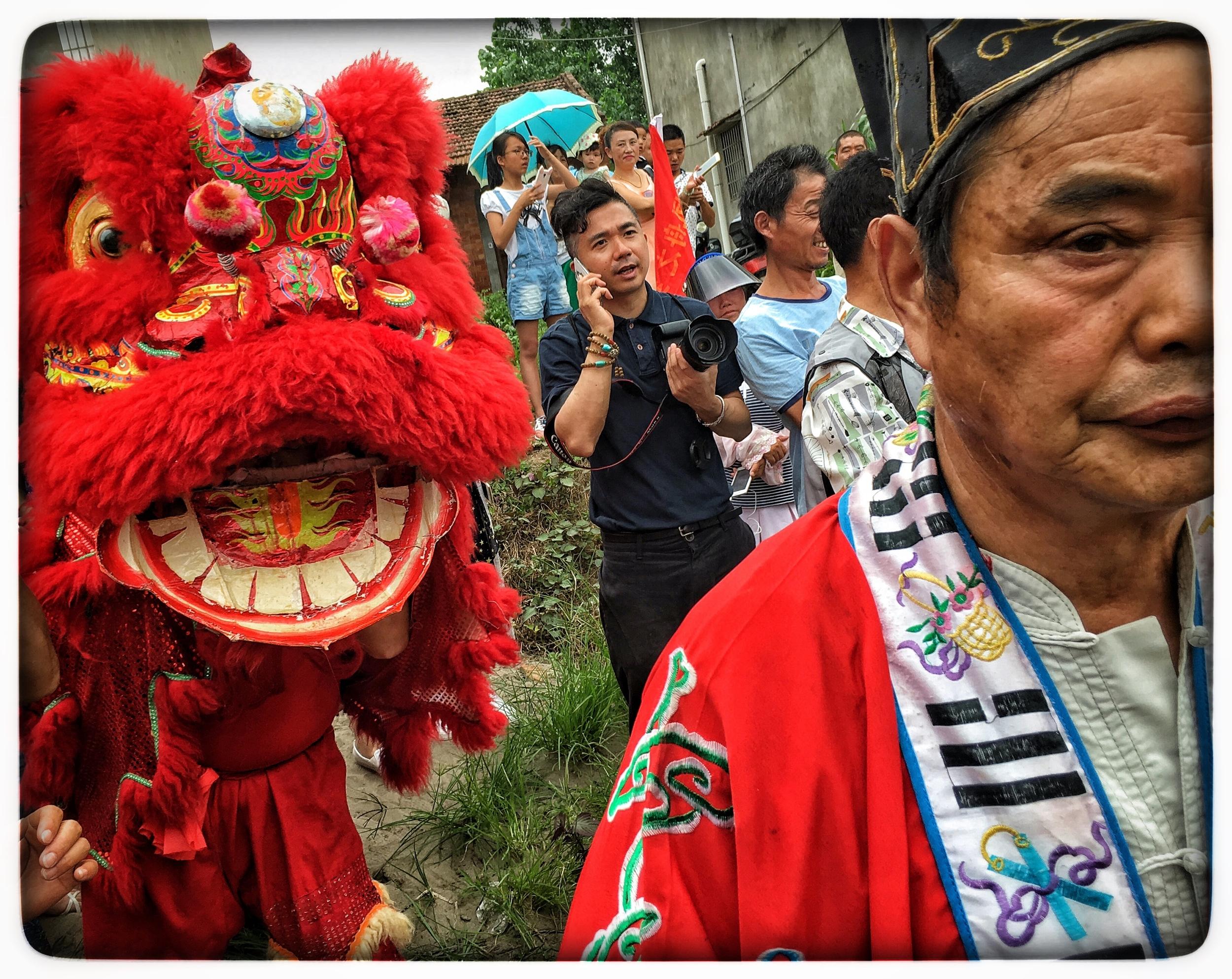Phoenix boat ceremony, Binhu