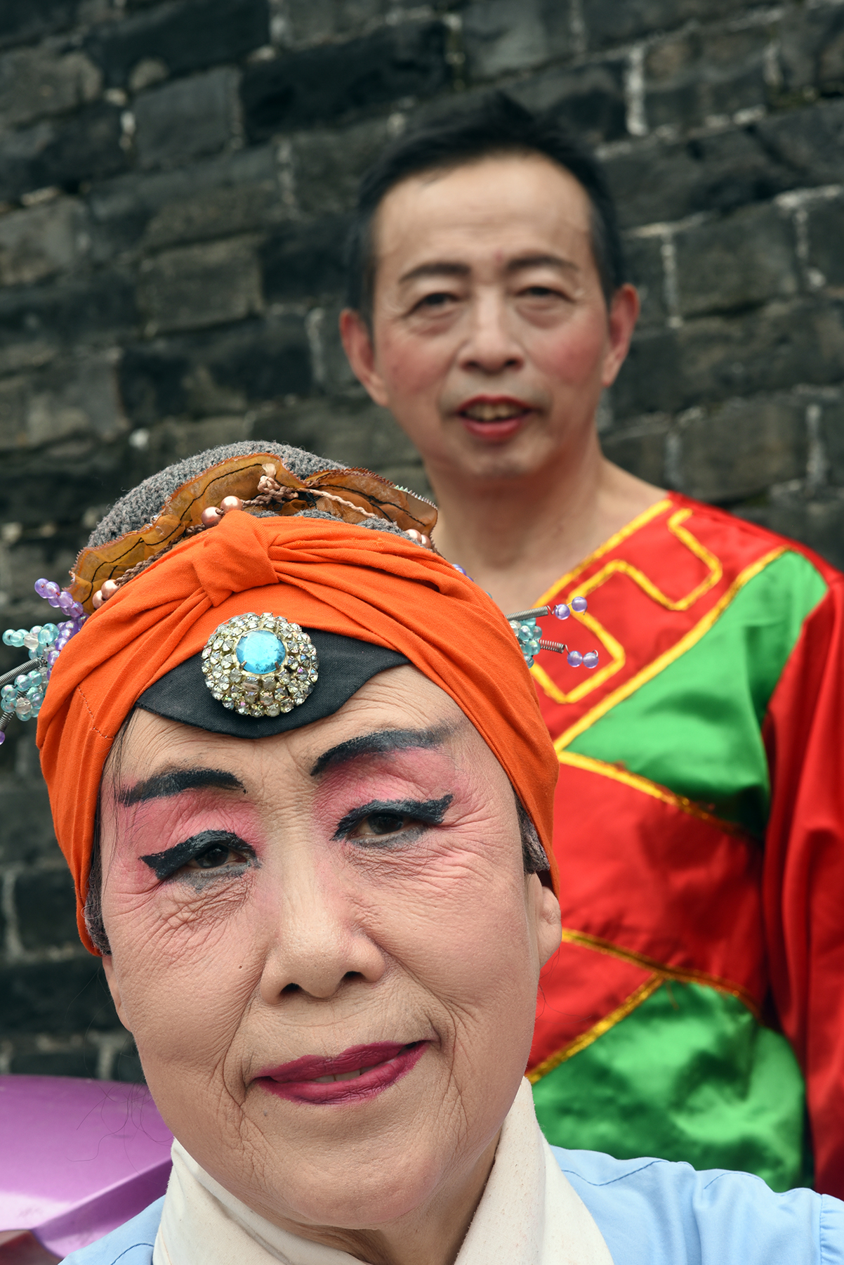Chinese opera and folk performers, Jingzhou