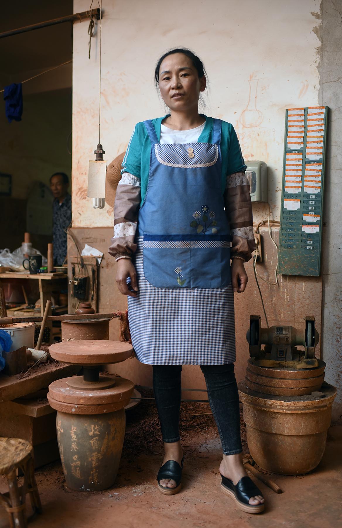 Purple pottery apprentice, Jianshui 2017