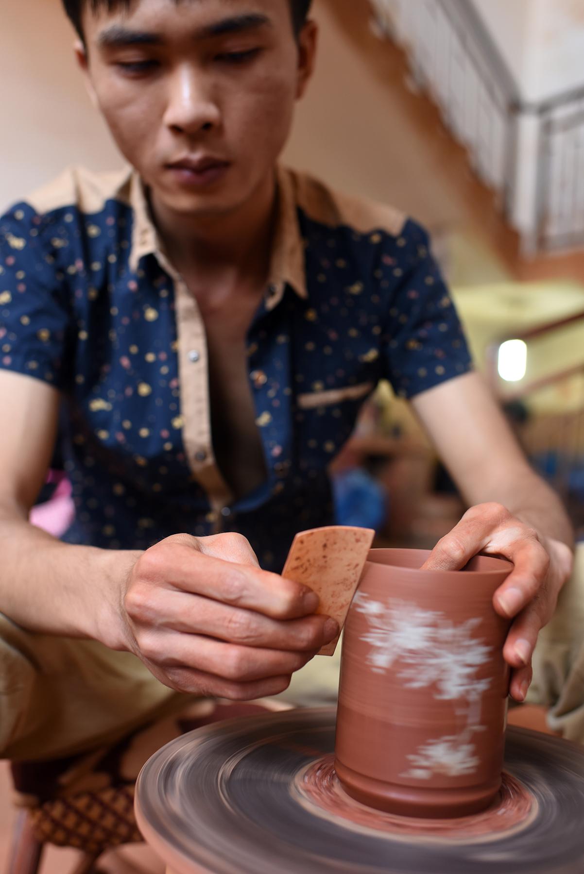 Purple pottery apprentice, Jianshui