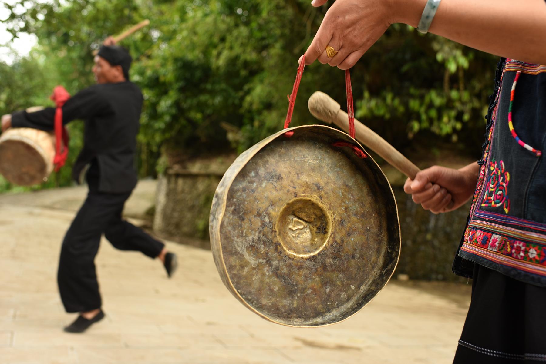 Mang Drum Dance. Potuo village, Yunnan, 2017.