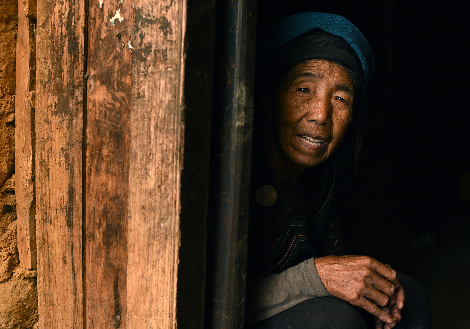 Hani elder, Luomo village, Yunnan, 2017