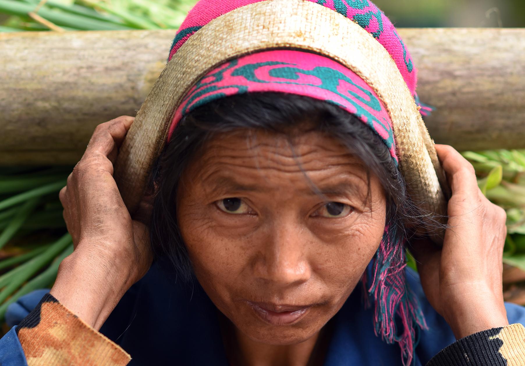 Hani farmer, Potuo village, Yunnan, 2017
