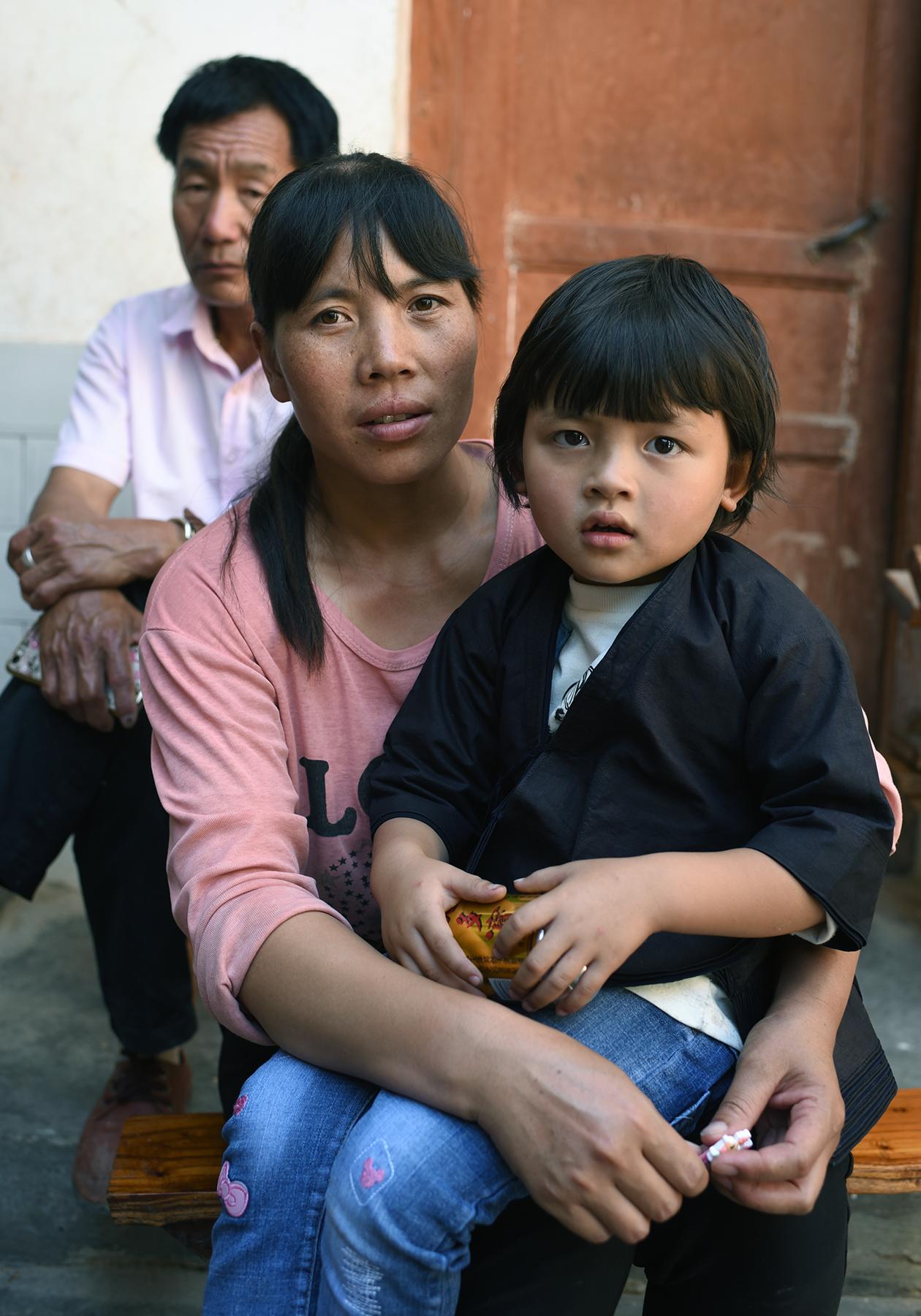 Hani family, Dayangjie, Yunnan, 2017