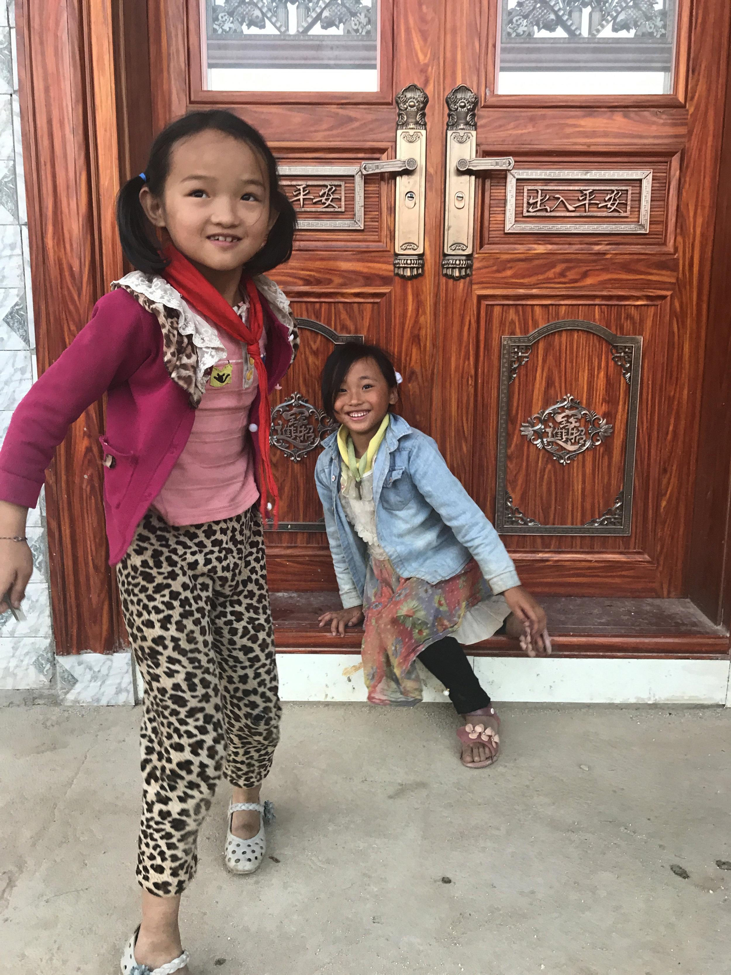 Dieshi village kids.