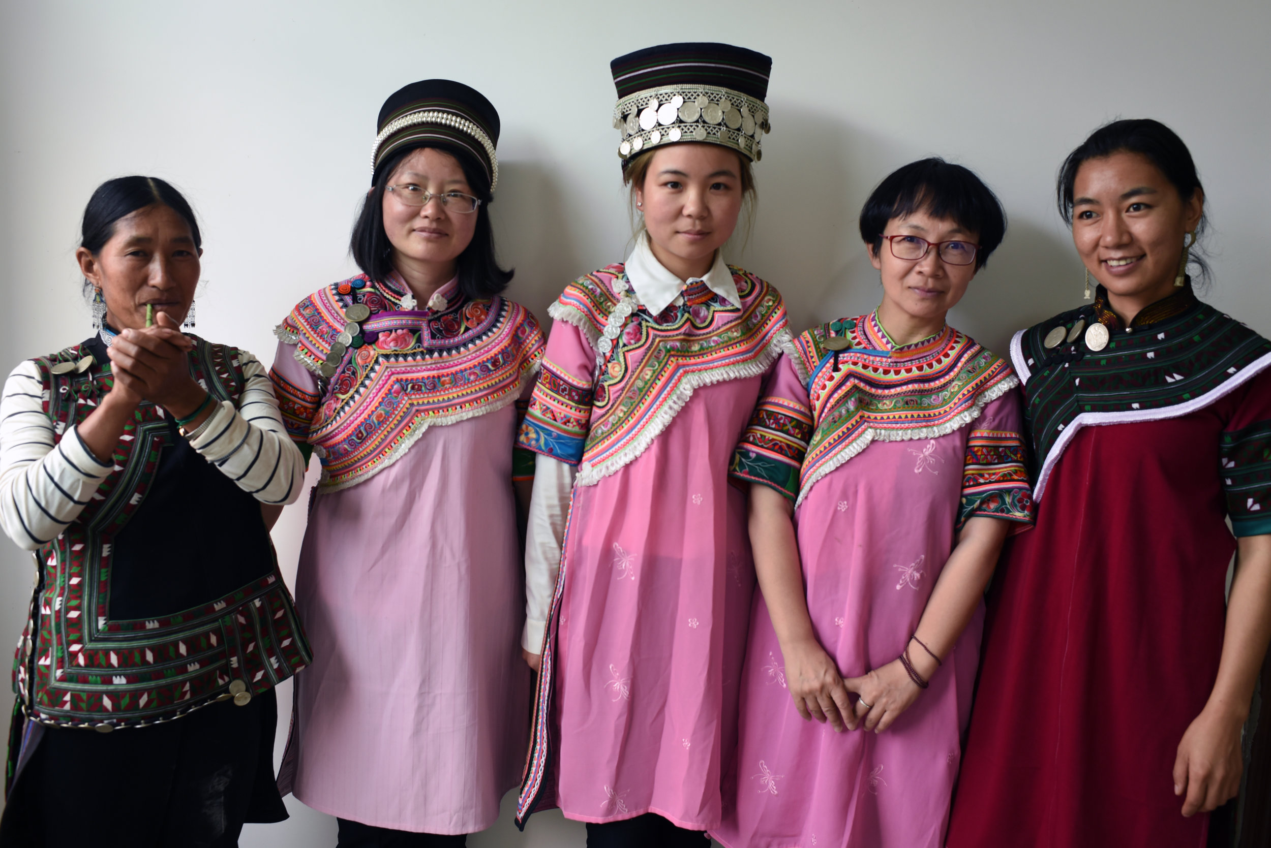 Bia Niasheng, Jenny Li, Liu Fan, Yangping Ruan, and Chen Xia Ling.