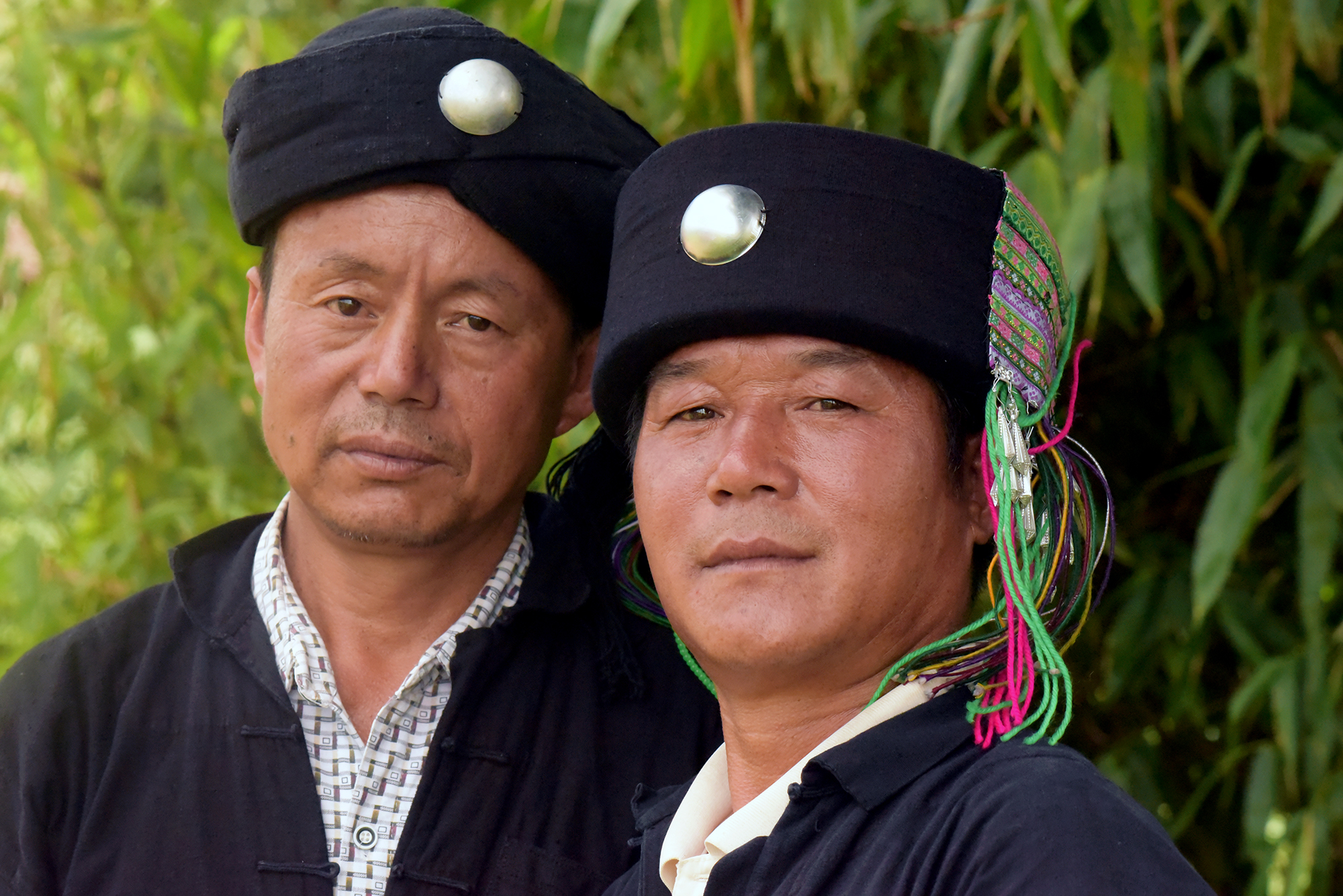 Bai Jin Bao and Ni Wei Zhe, Inheritors of Intangible Cultural Heritage, Yangjie village.