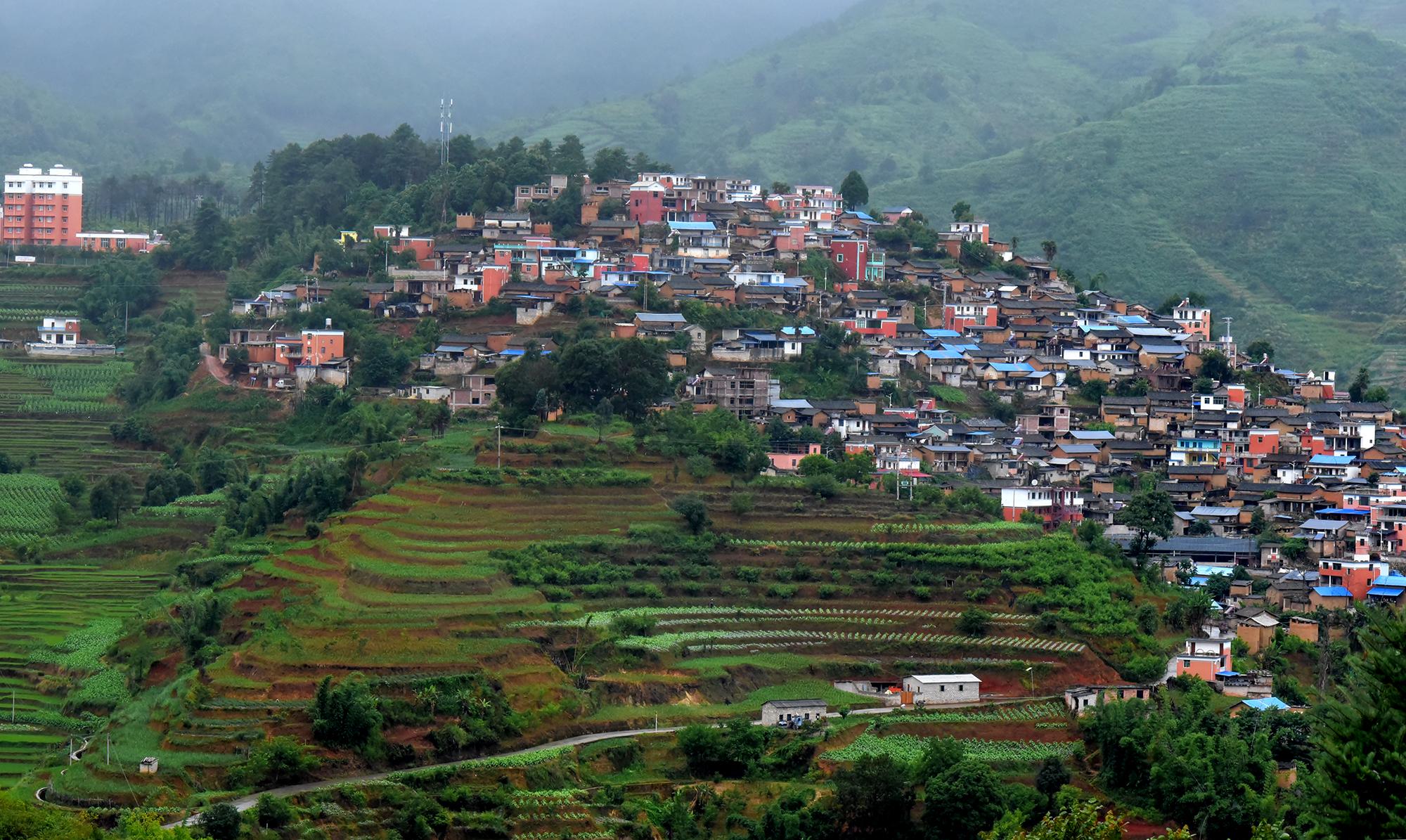 Rural village, Yunnan province