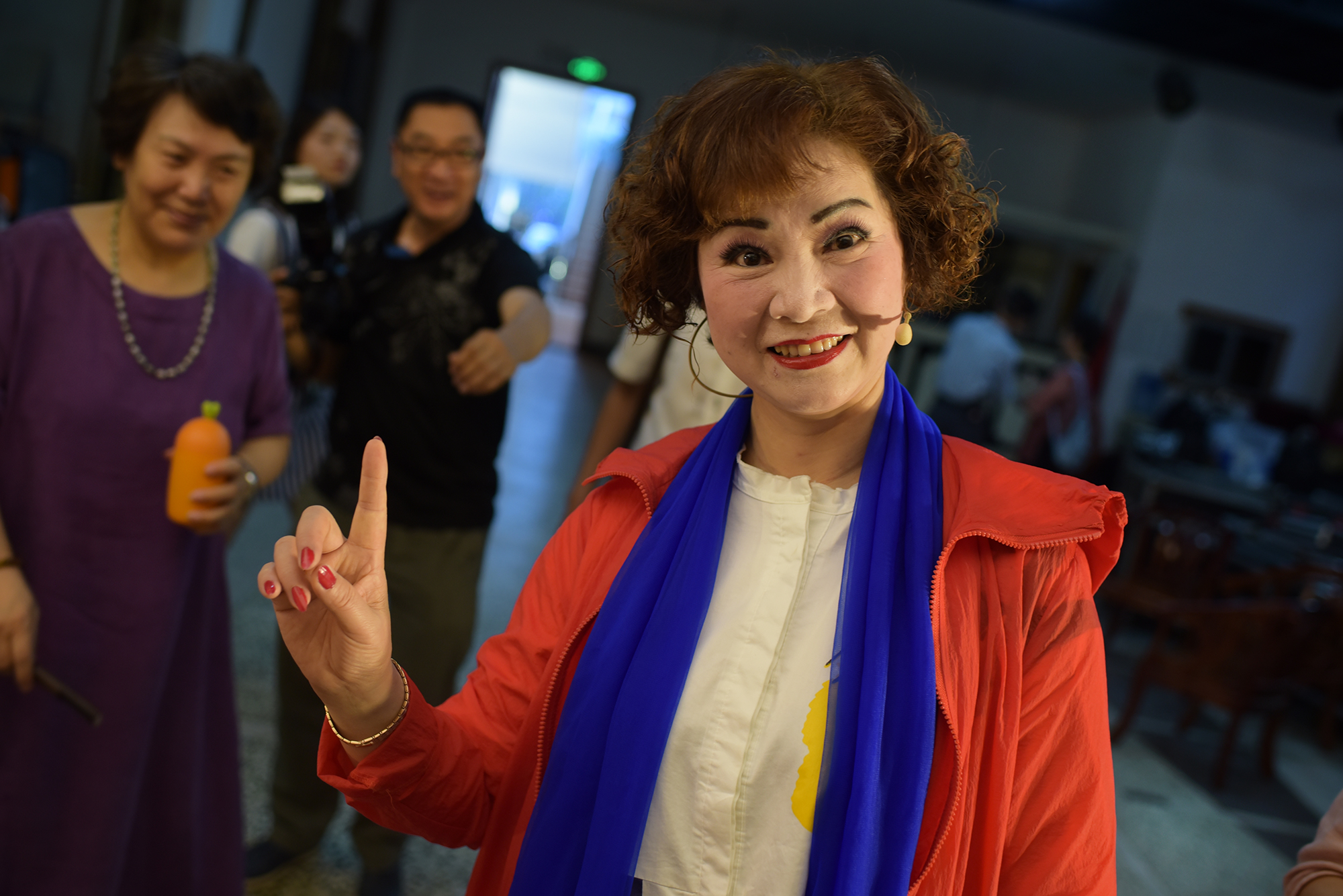 Modern Peking Opera performance, Jingzhou 2018