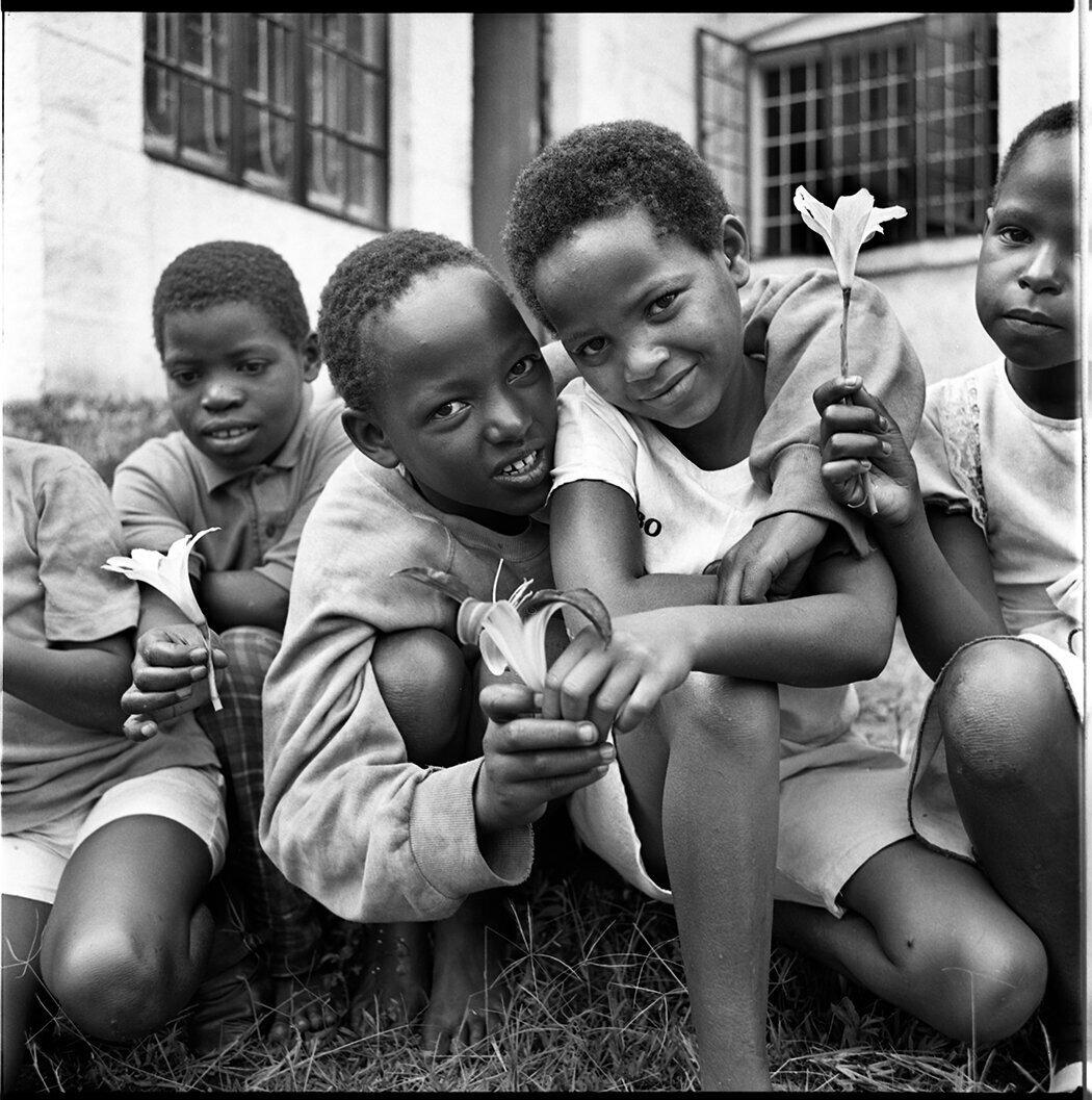 Street girls in rescue center, Kenya 1993