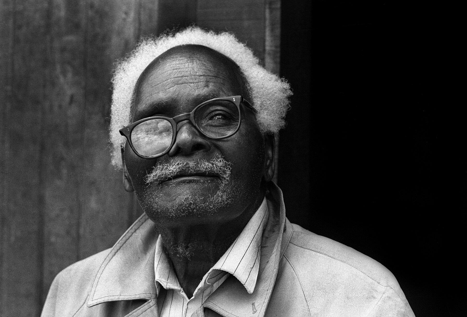 Kikuyu elder, Limuru District, Kenya 1989