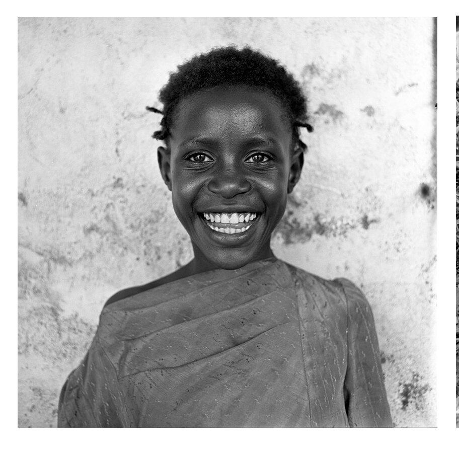 Kenyan street girl, Nairobi, 1993