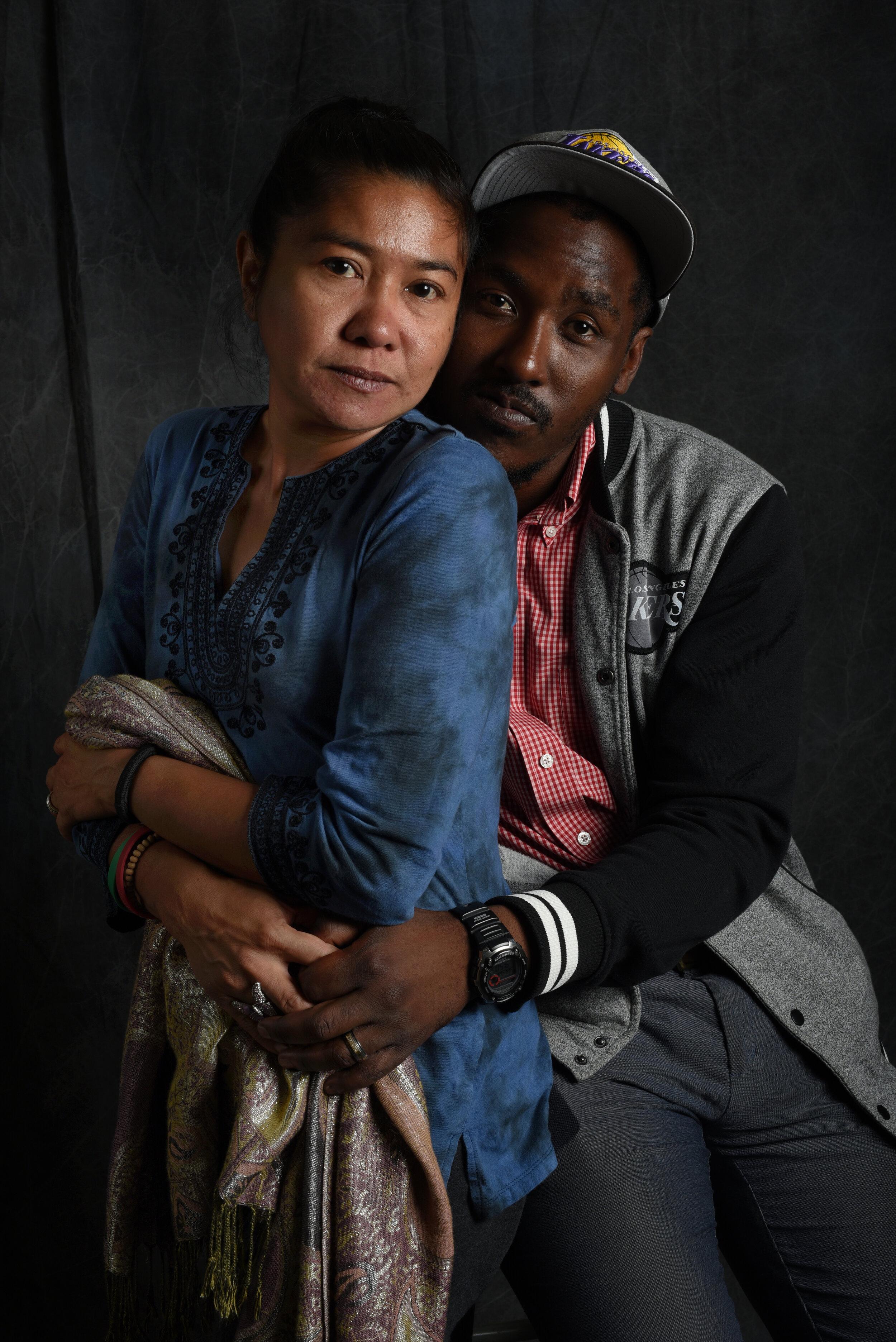 Couple heading towards homelessness, 2016