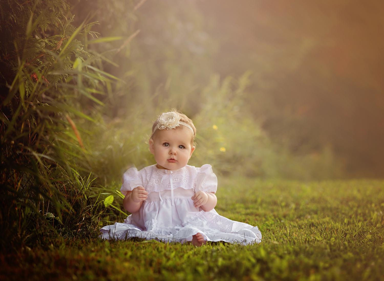 golden-evening-light-sitter session-outdoor-6 months