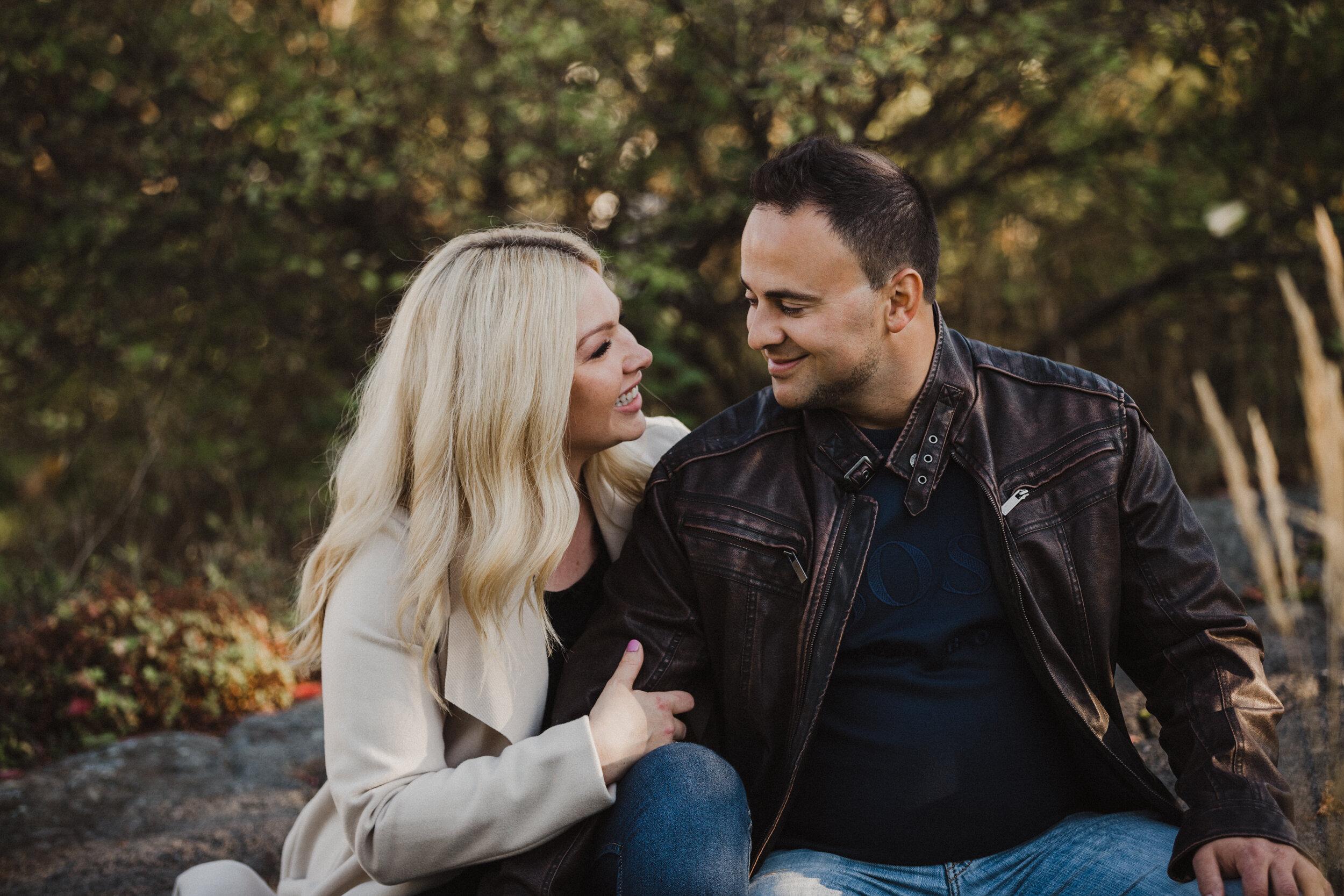 Sudbury engagement photo