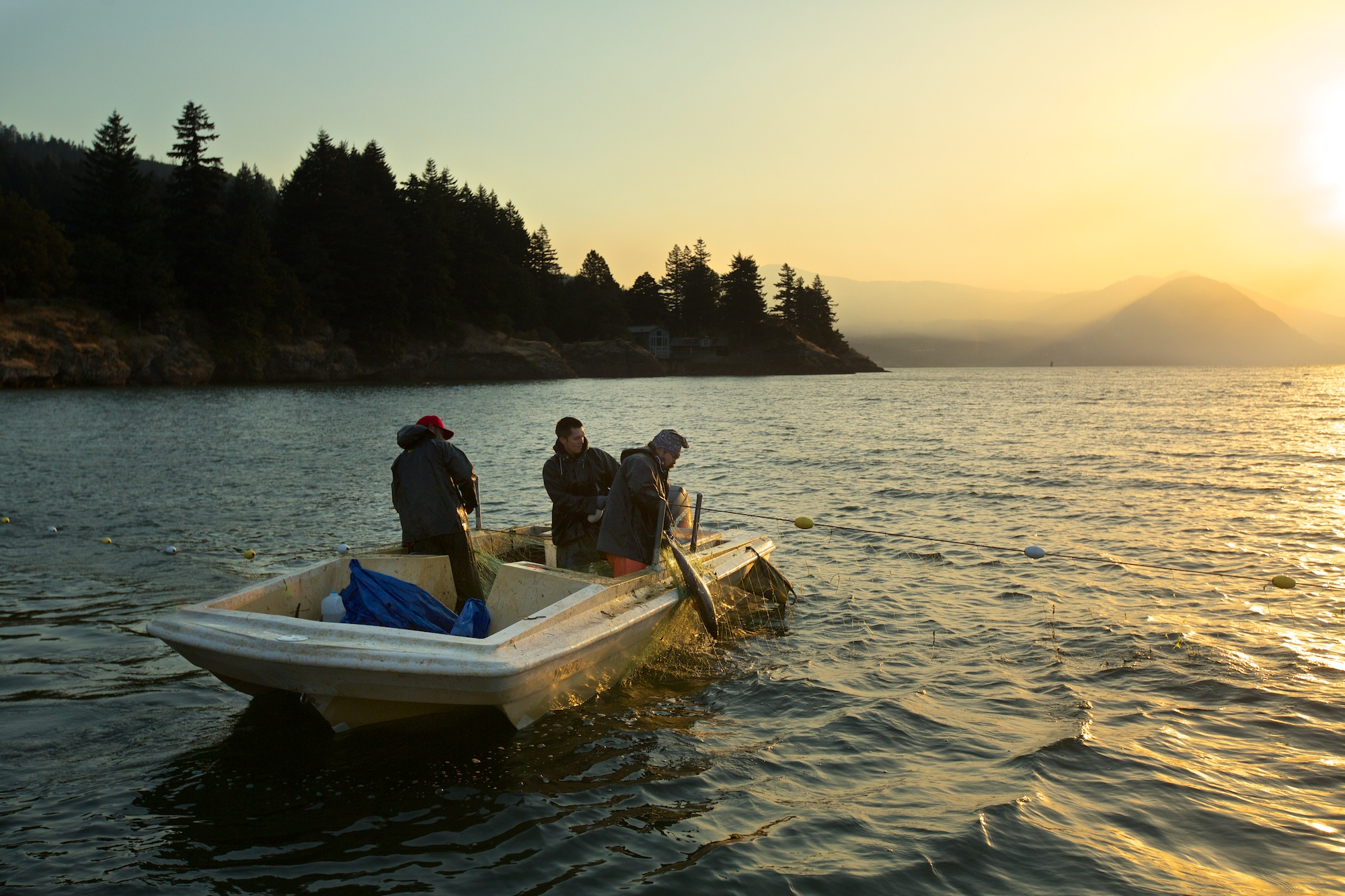 Gill-netting on the Columbia River. Thomas Boyd/The Oregonian