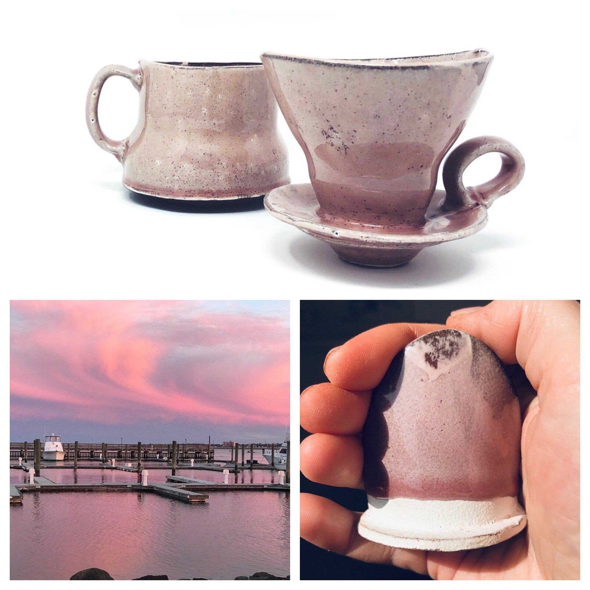 pour over set in pink 2019