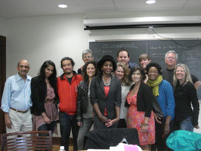 Laurie Steed - 2012 University of Iowa Graduate Fiction Workshop.JPG